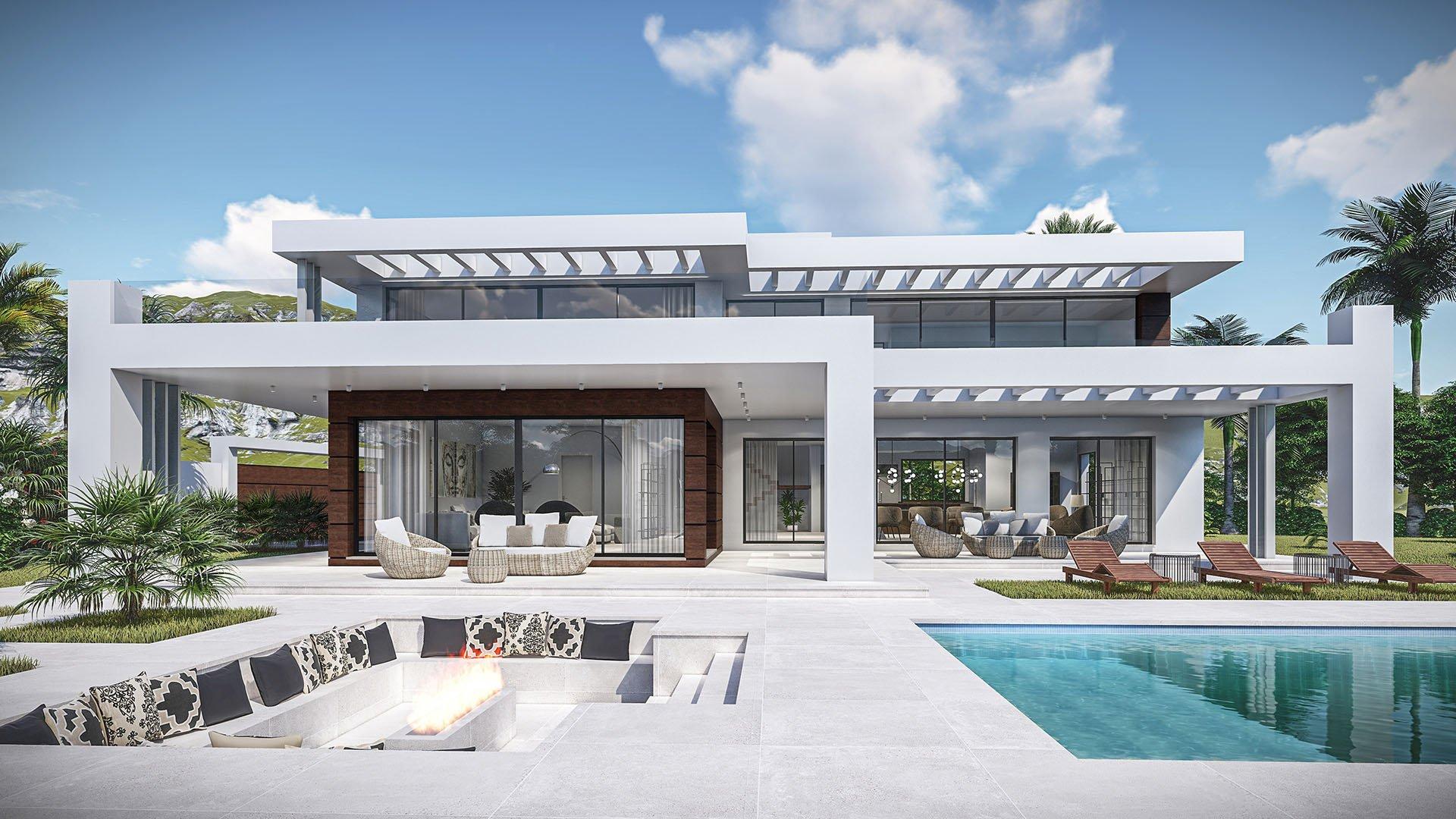 Midori: Design villa in Las Chapas, Marbella