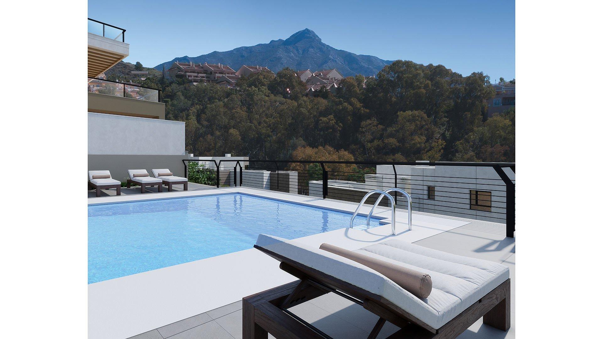 Marbella Lake: Appartement in Nueva Andalucia, Marbella