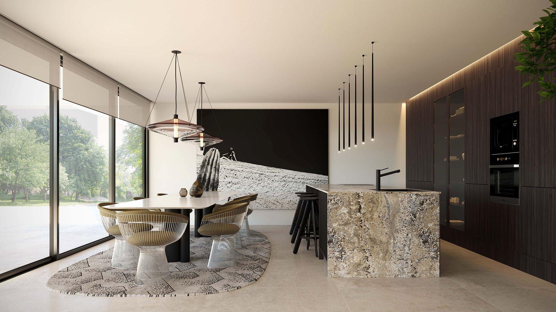 Marein Banus: Luxury villas 50 meters from the beach in Puerto Banús