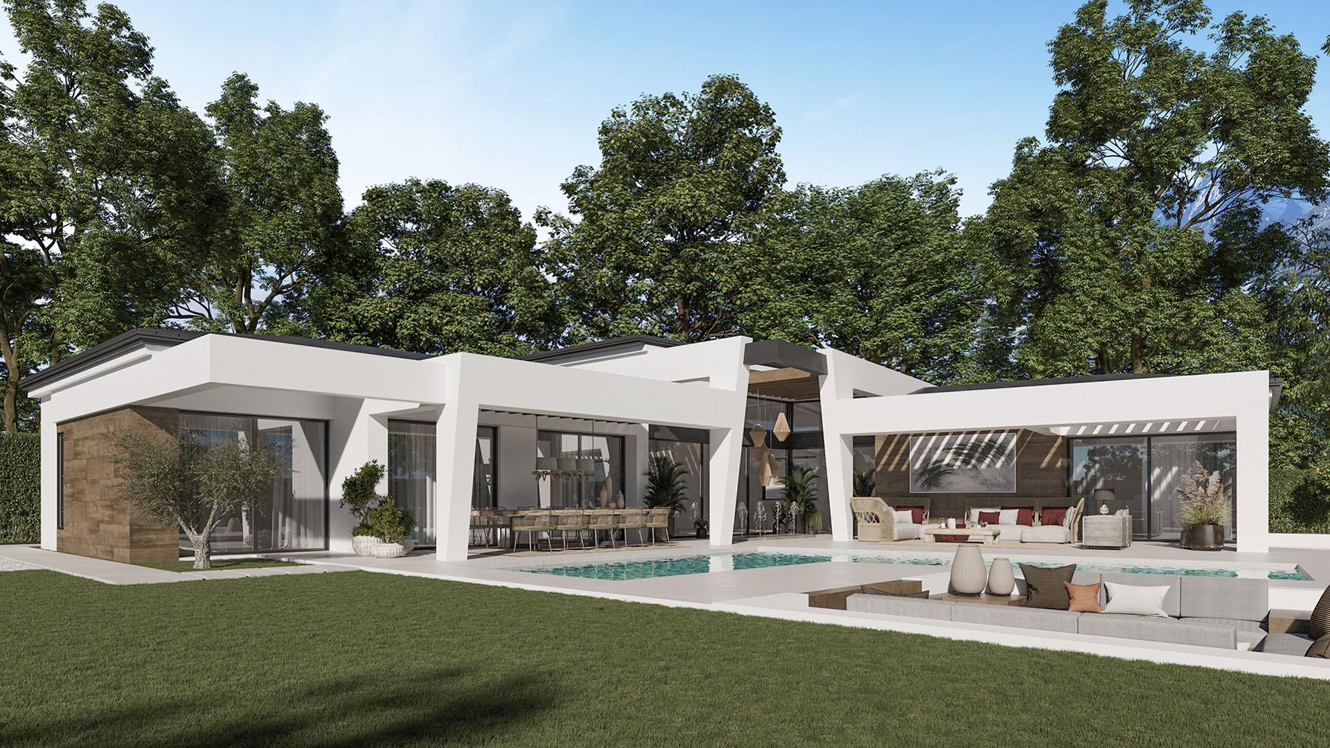 Marein Natura: Modern luxury villas in Nueva Andalucía, Marbella
