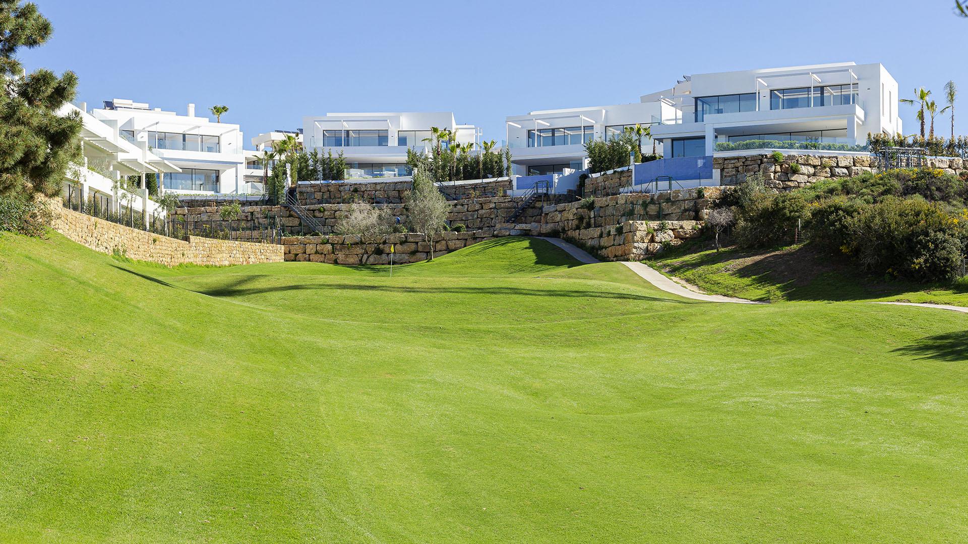 Mirador De Cabopino: eerste lijn golf villa's in Cabopino, Marbella