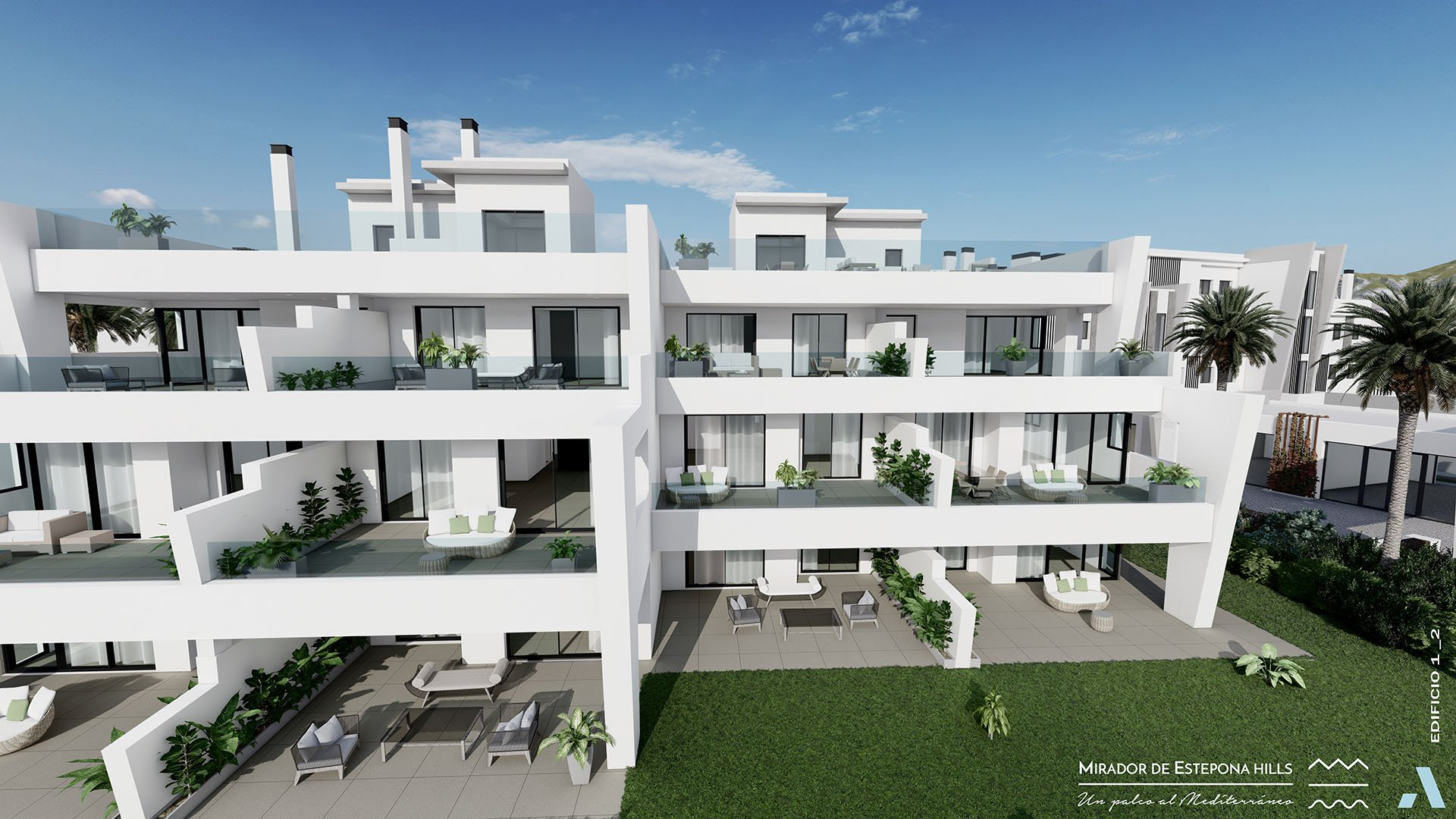 Mirador de Estepona Hills: Apartments next to Estepona