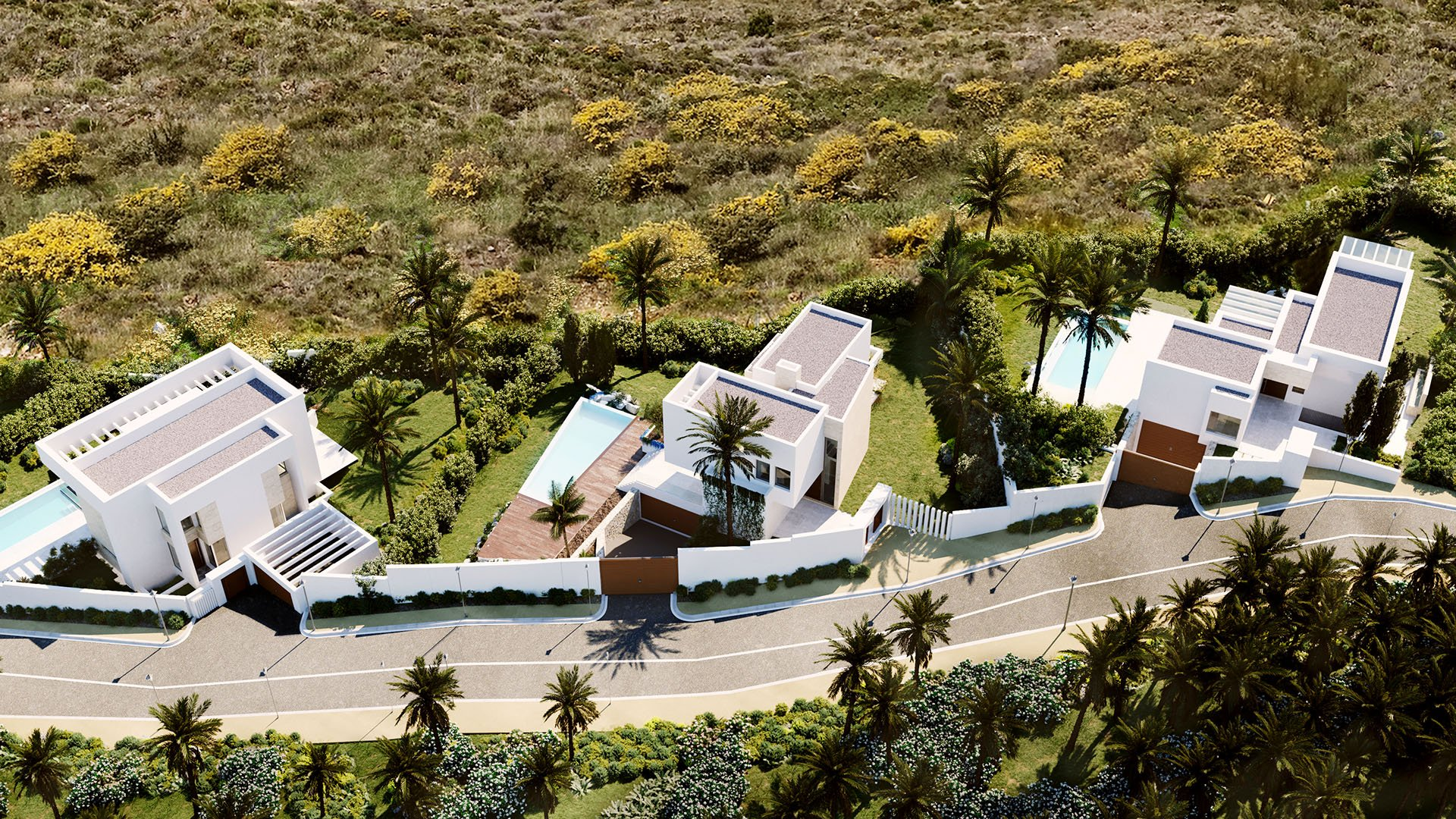 Mirador del Paraíso Village: Moderne villa's in een exclusief resort op de New Golden Mile