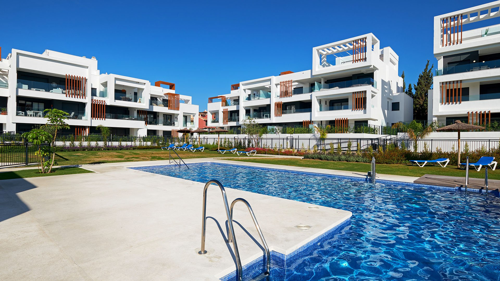 Miradores del Sol: New ground floor apartment on the New Golden Mile