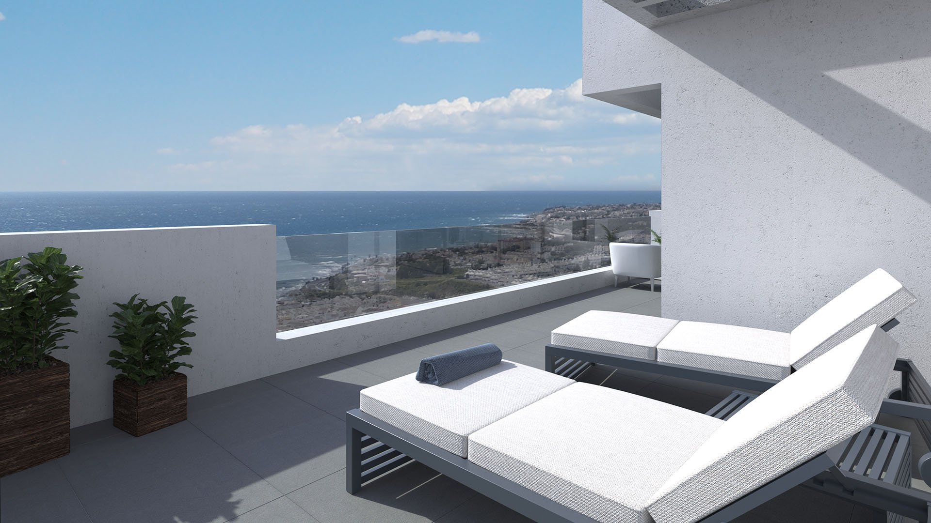 Navigolf IV: Apartments with a modern design in Mijas