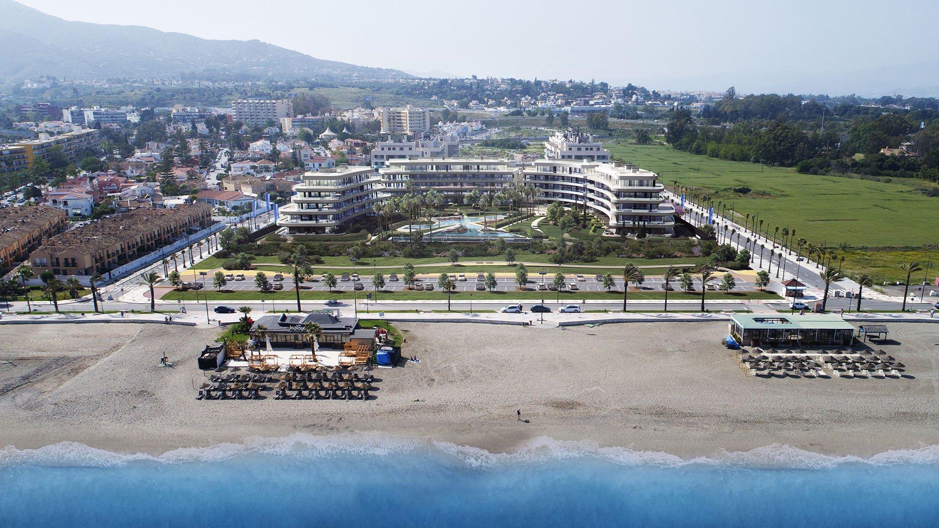 Nereidas: Appartementen aan het strand in Torremolinos