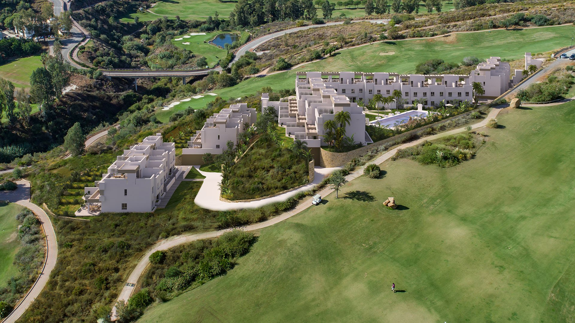Natura La Cala Golf: Townhouses in het idyllisch landschap van La Cala Golf Resort