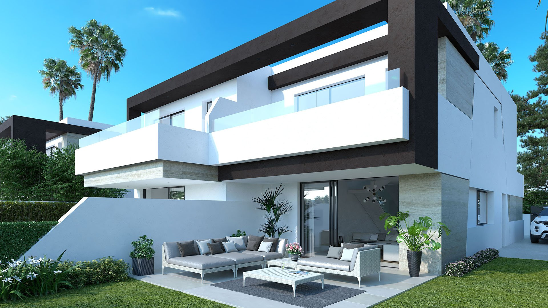 Oasis 22: Perfectly situated semi-detached villas on the New Gold Mile