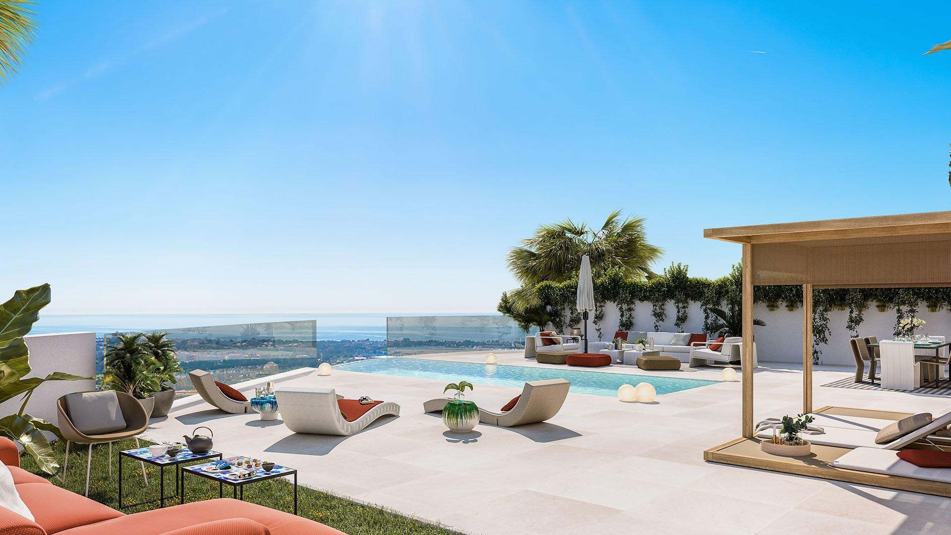 Ocean 360: Half vrijstaande villa's in het exclusieve gebied van Benahavís