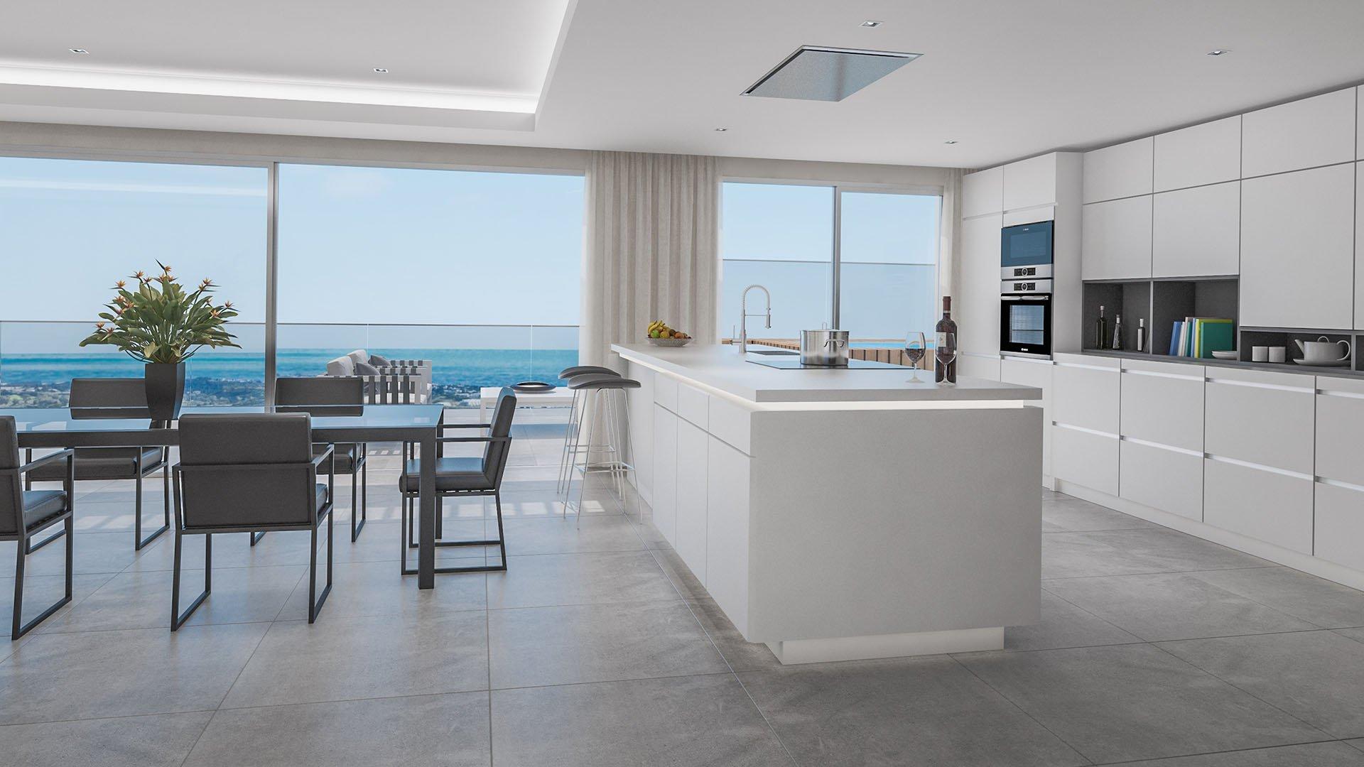 One Heights: Betaalbare eerste lijn golf appartementen te Mijas