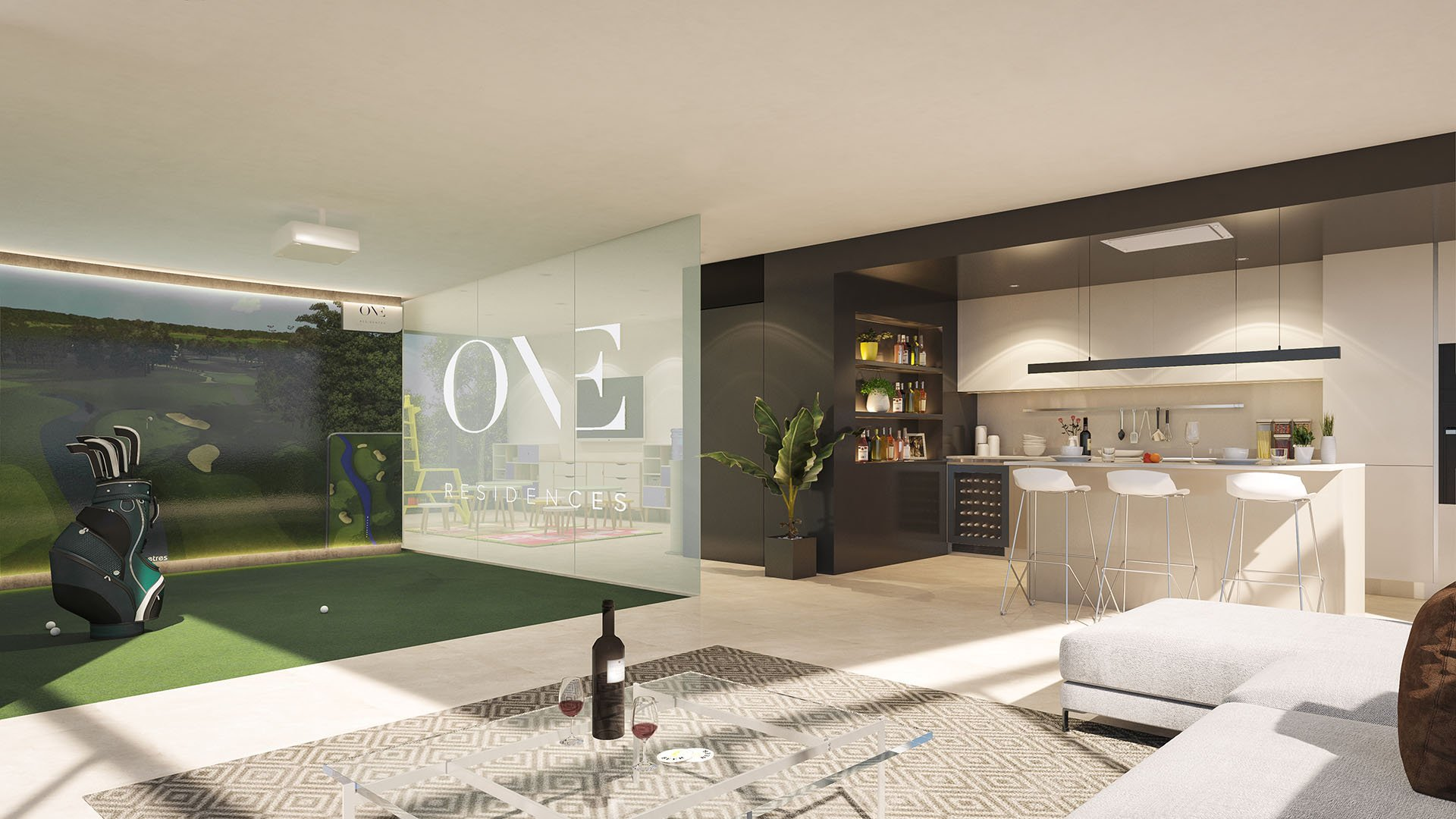 One Residences: Front line luxury golf penthouses in Calanova Golf