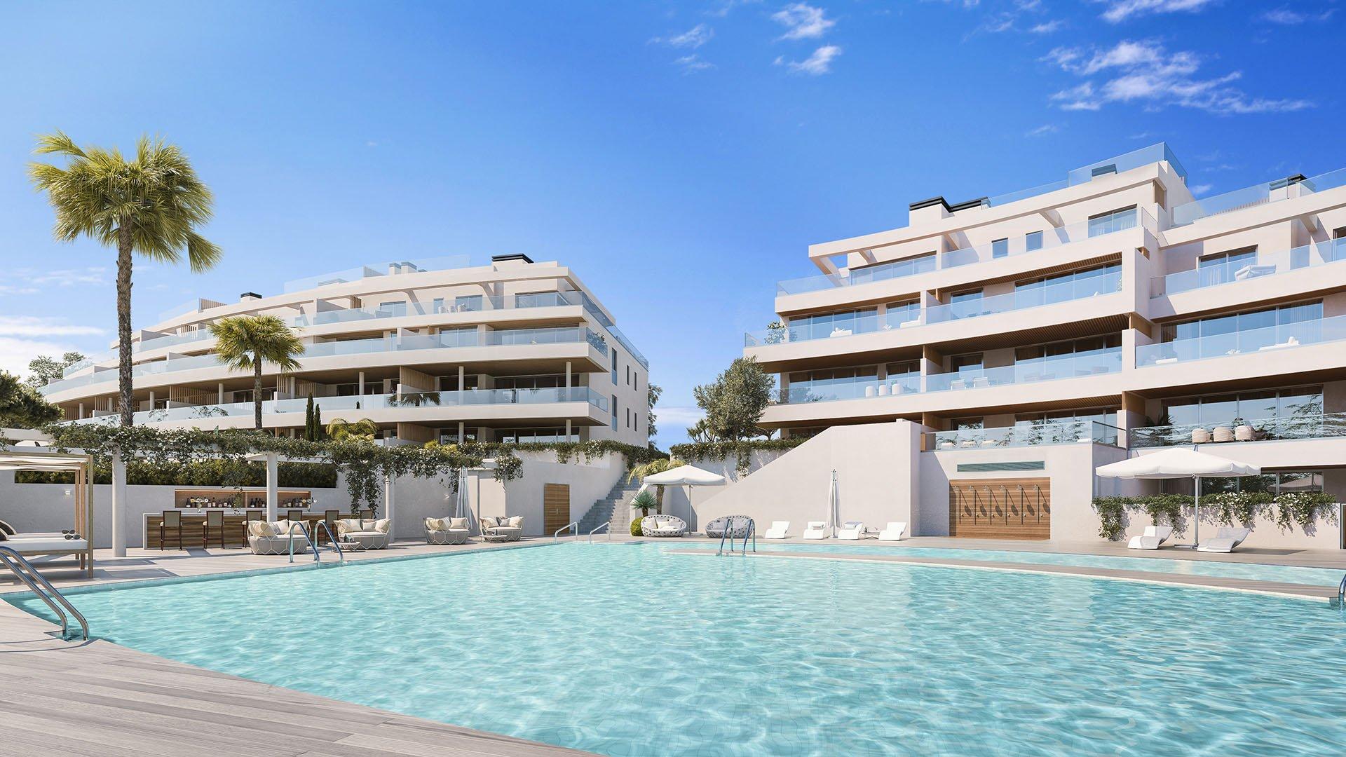 One Residences: Eerste rij golf luxe penthouses in Calanova golf