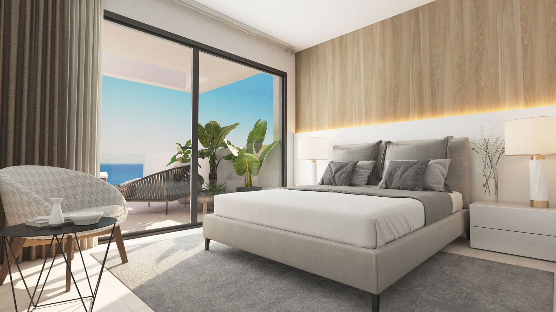 Pure South: Attractive contemporary penthouses in Manilva
