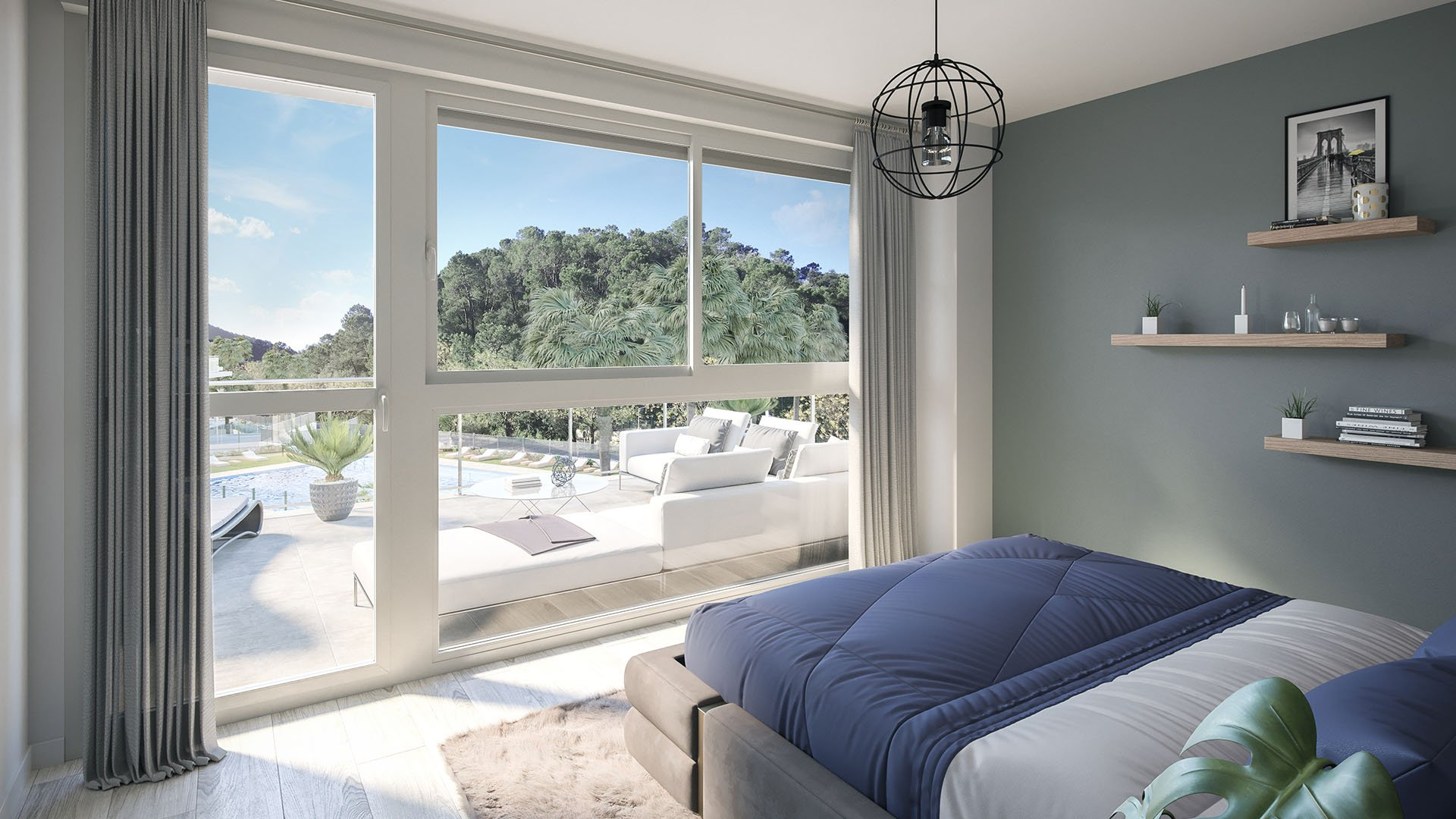 Riverside: Apartments and Penthouses surrounded by nature