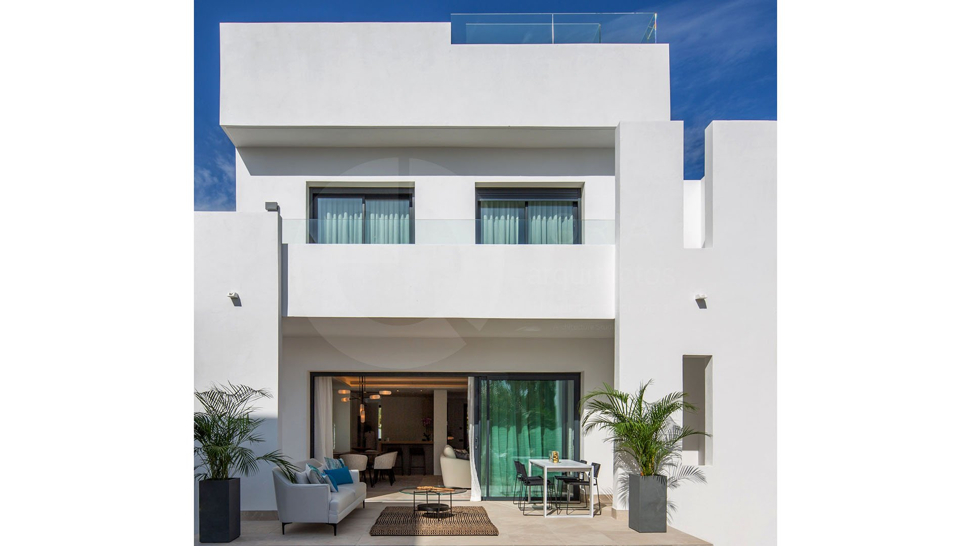 Reserva del Conde: Townhouses in the heart of the golf valley in Marbella