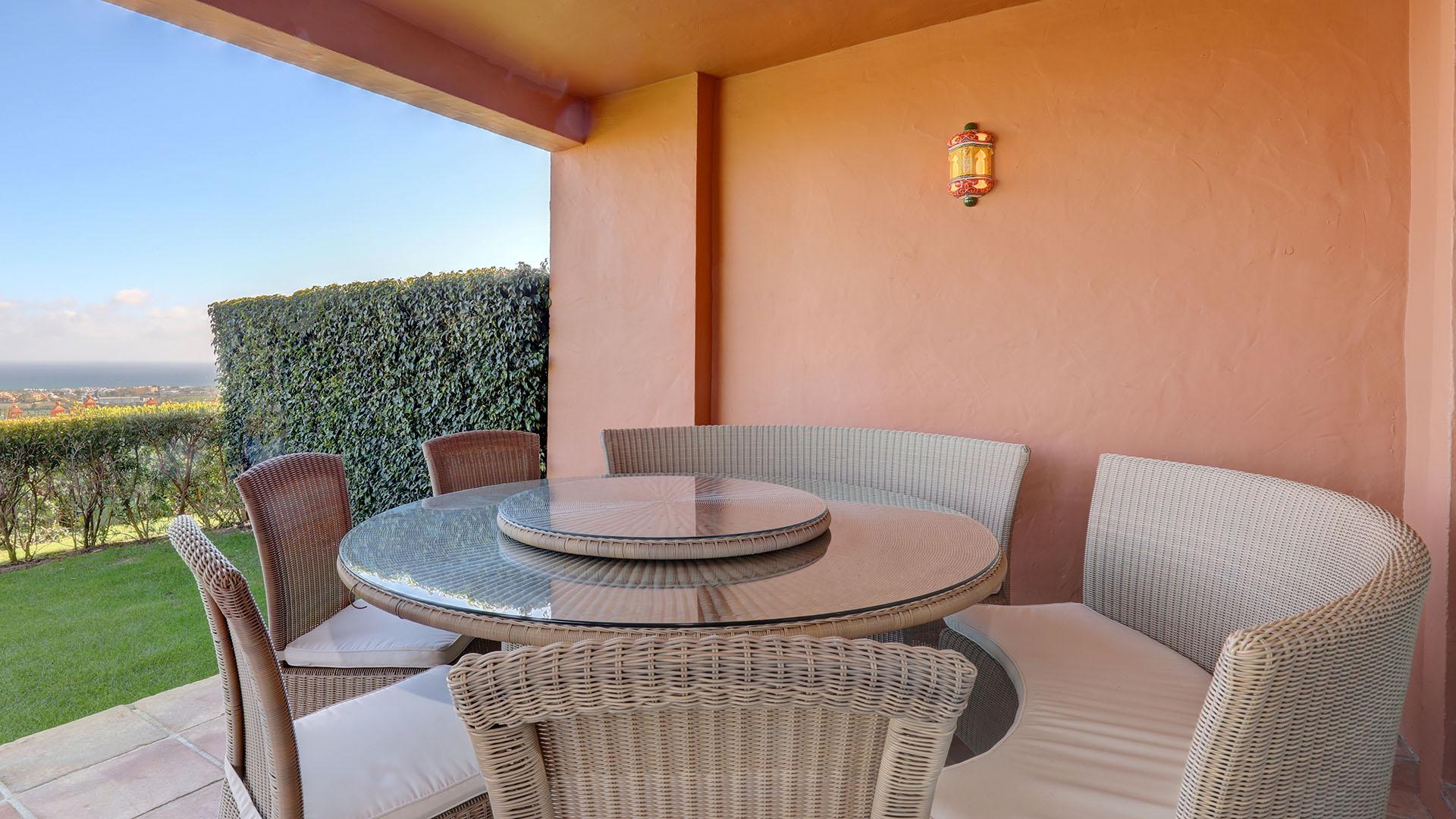 Royal Flamingos: Begane grond appartement met fantastisch uitzicht