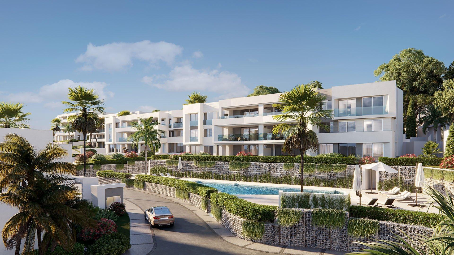 Soul Marbella Sunset: Woningen met prachtig zicht op golf & Middellandse Zee