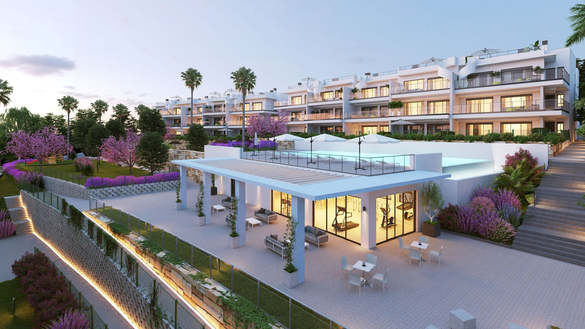 Sunrise Heights: Stylish and contemporary apartments with stunning sea views