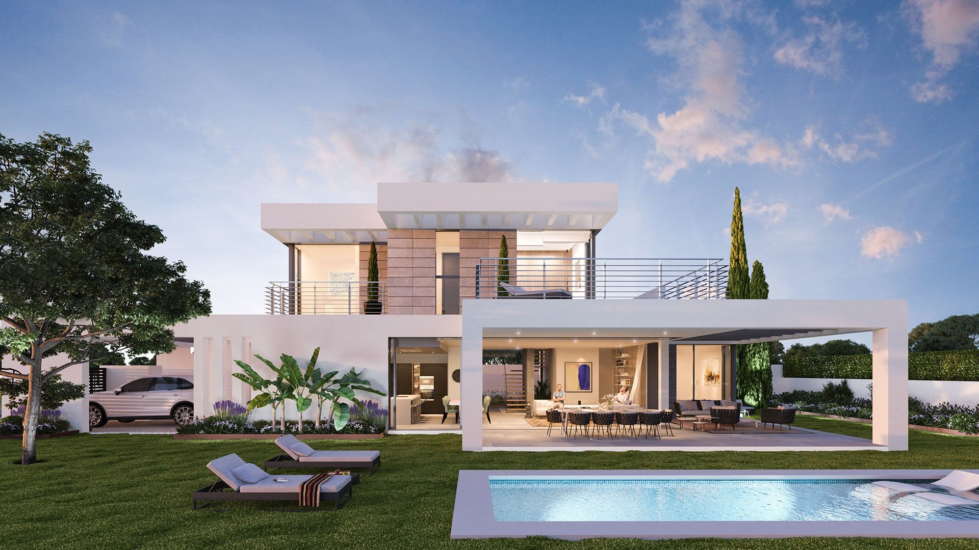 Syzygy The Villas : Moderne villa's met een strategische ligging
