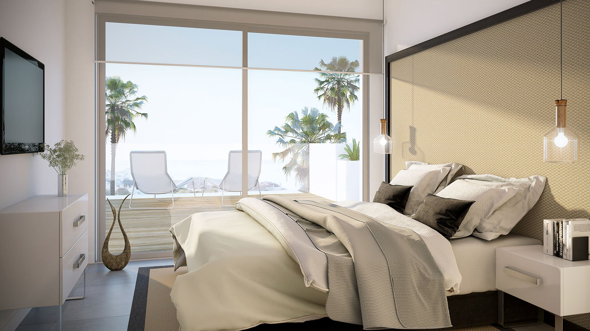 Scenic:  Luxe appartementen op wandelafstand van centrum Estepona en stranden