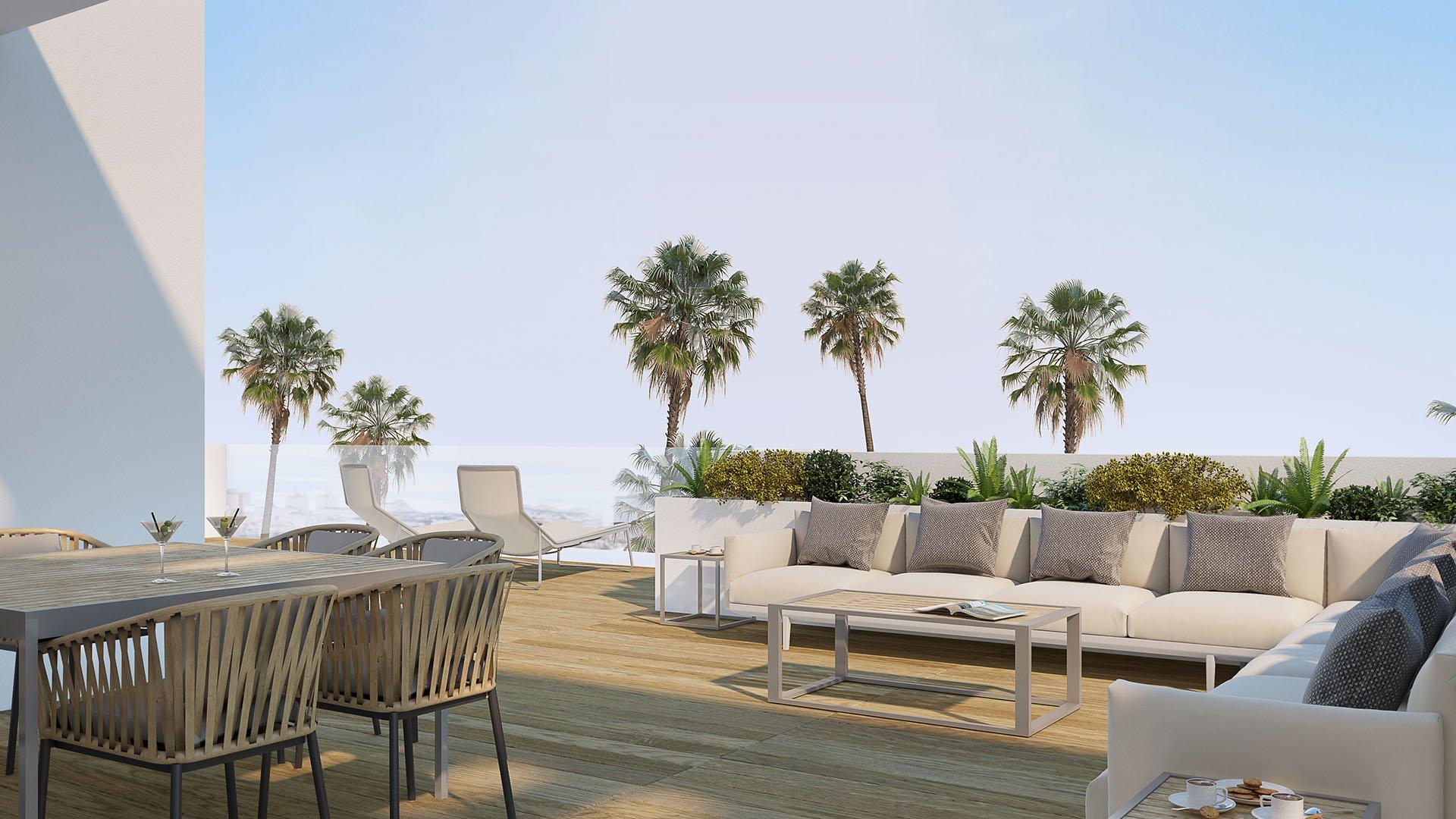 Scenic:  Luxe penthouses op wandelafstand van centrum Estepona en stranden.