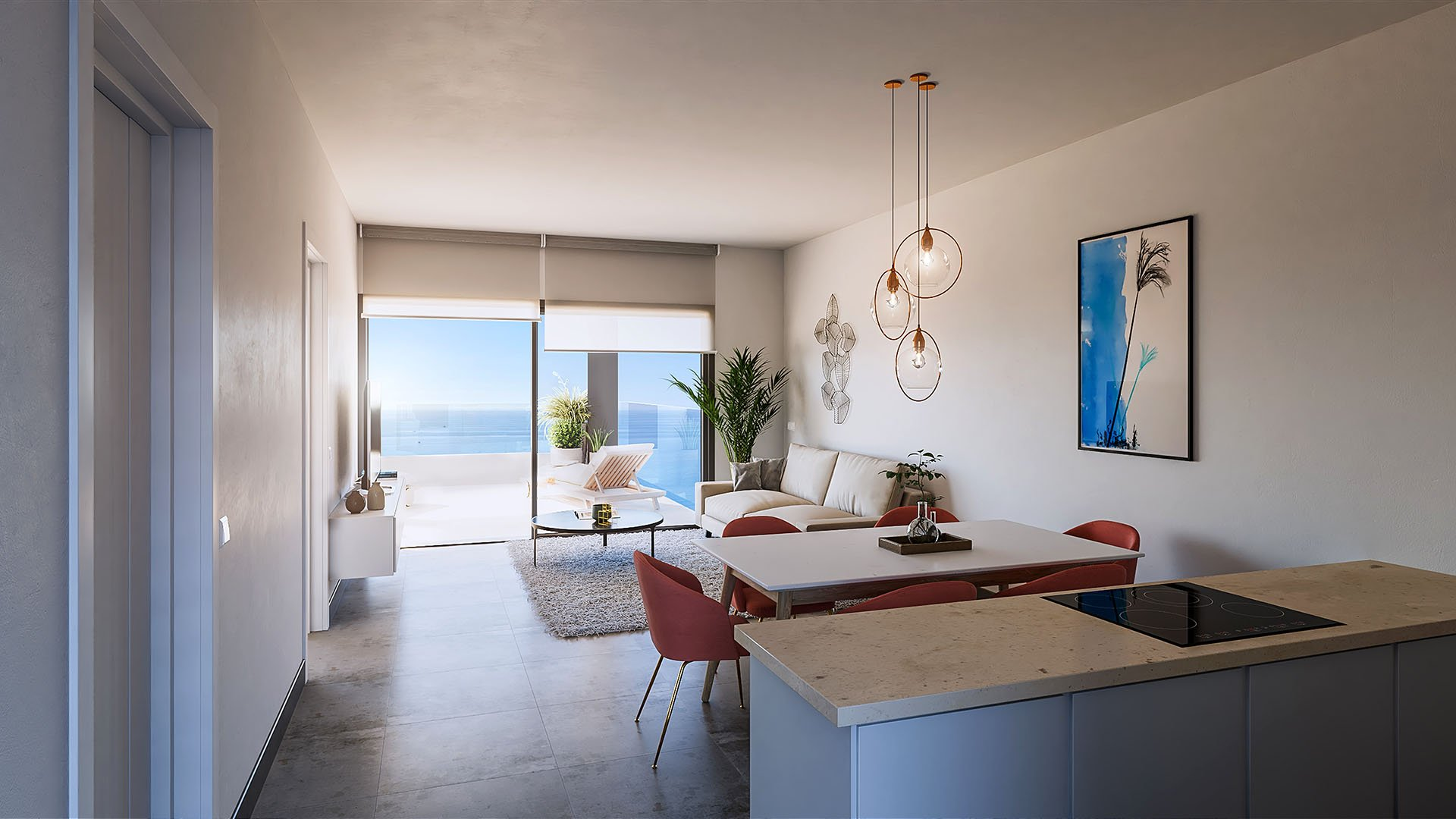 Seaviews Reserve: Apartments and penthouses at walking distance from the beach and promenade