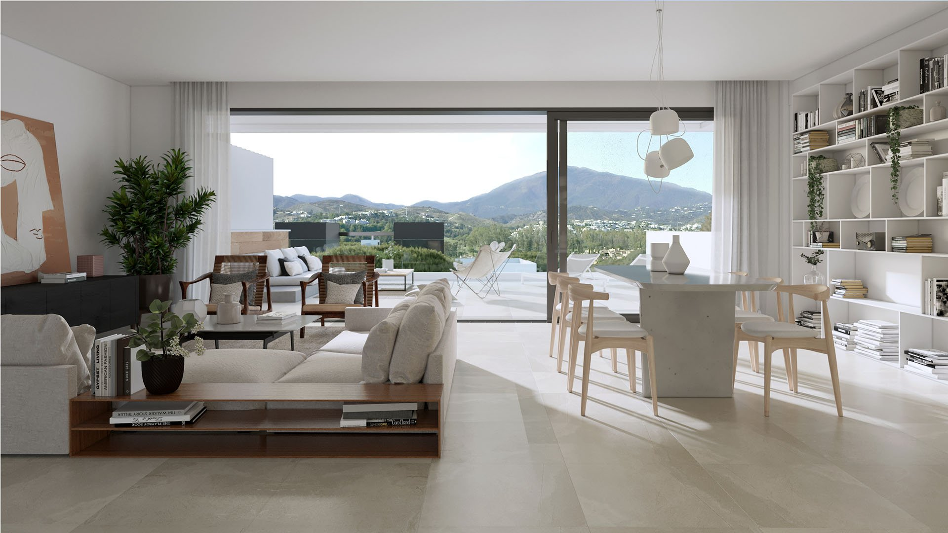 Serene Atalaya: Semi-detached villas surrounded by golf resorts