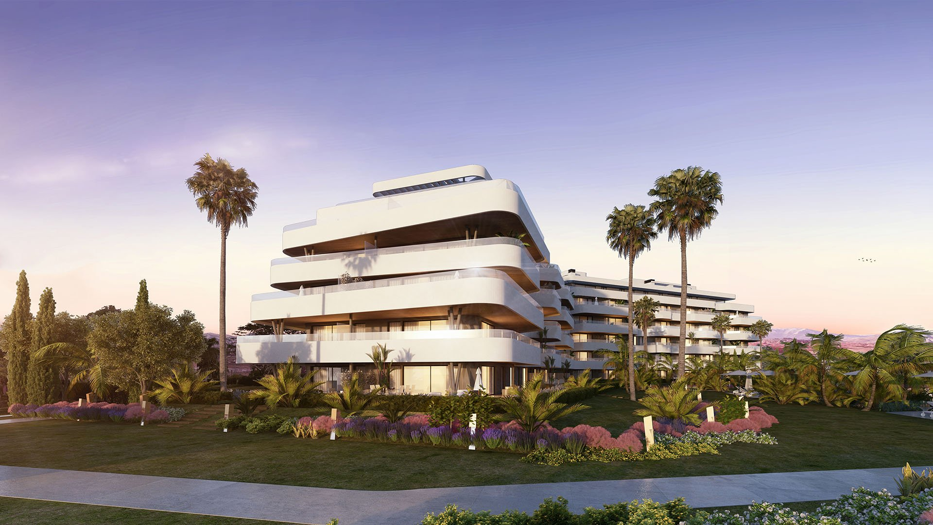 Alborán Siroco: Front line beach residences in Torremolinos