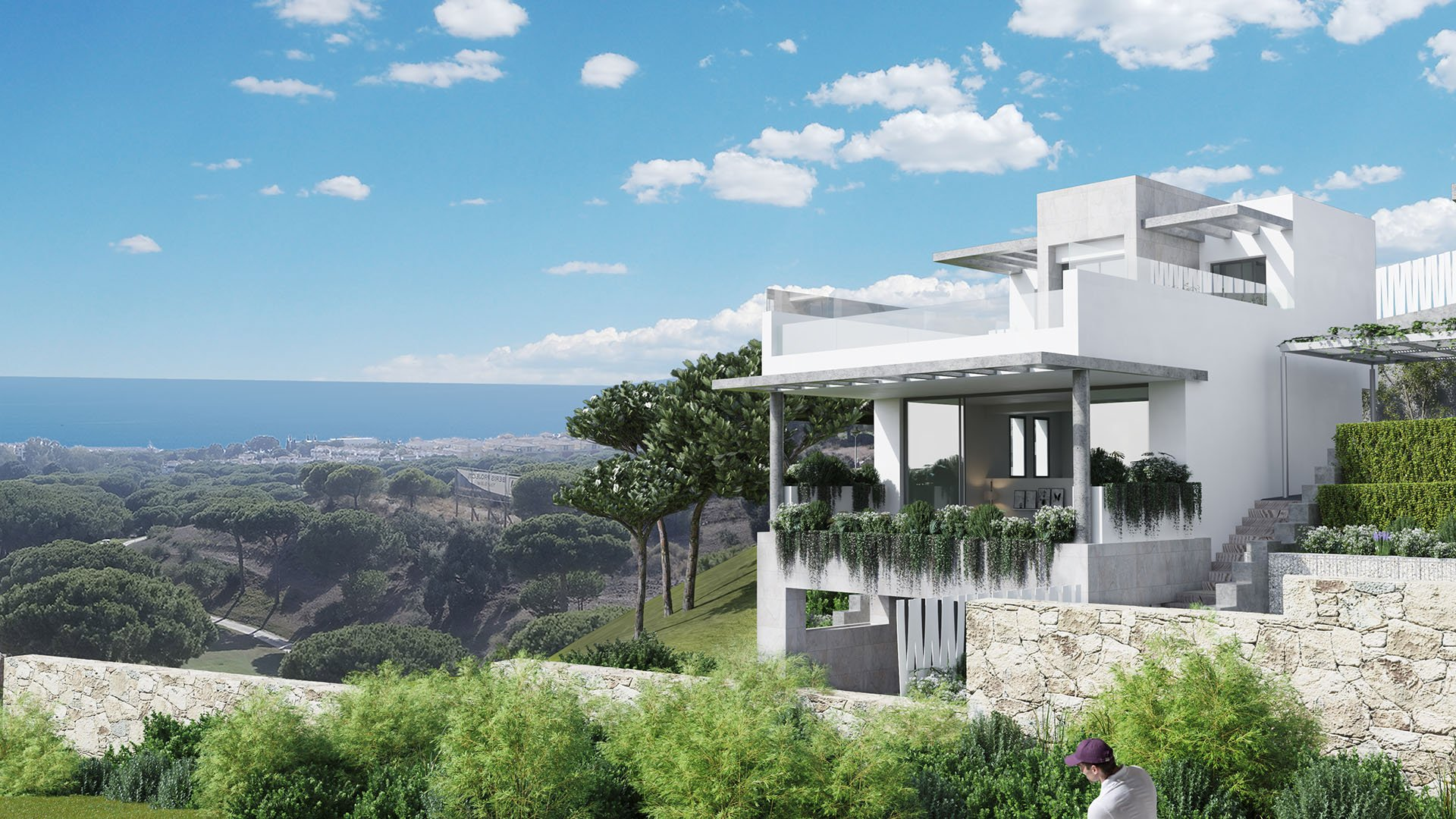 The Cape: Exclusive townhouses frontline golf with sea view