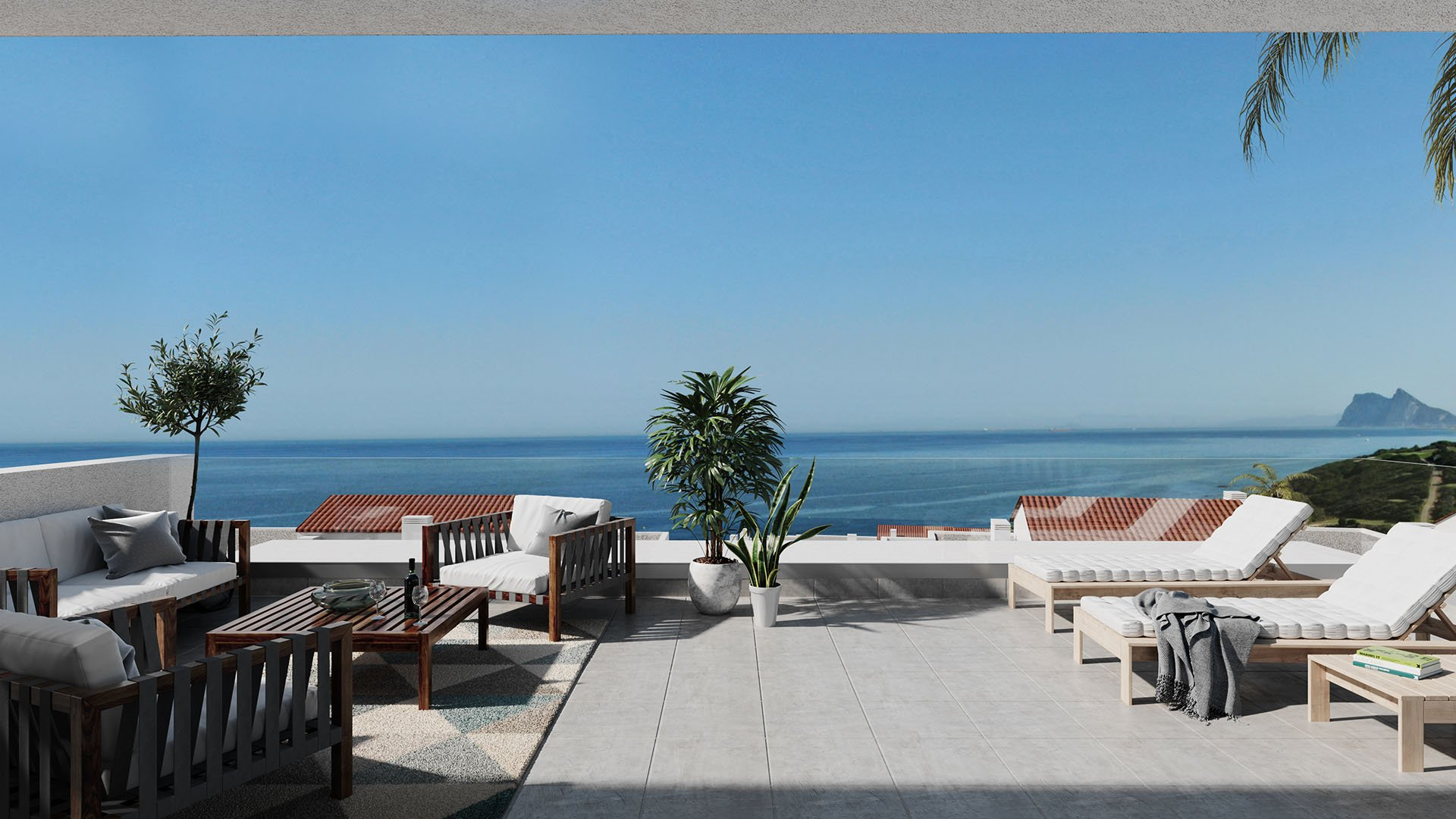 The Links: Modern penthouses 100 meters from the beach