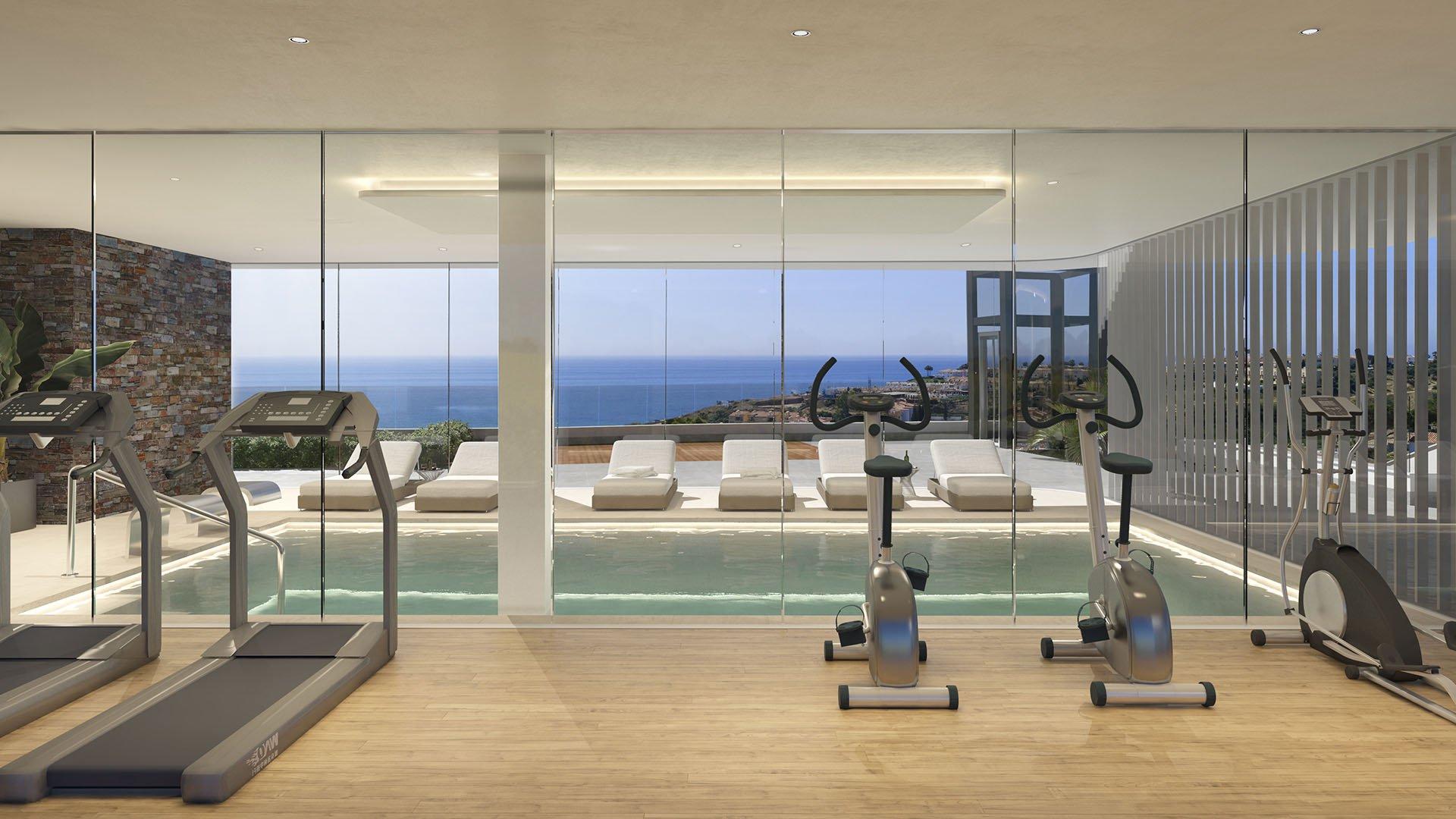 The view Fuengirola: Luxe ontwikkeling met fenomenaal zicht op zee