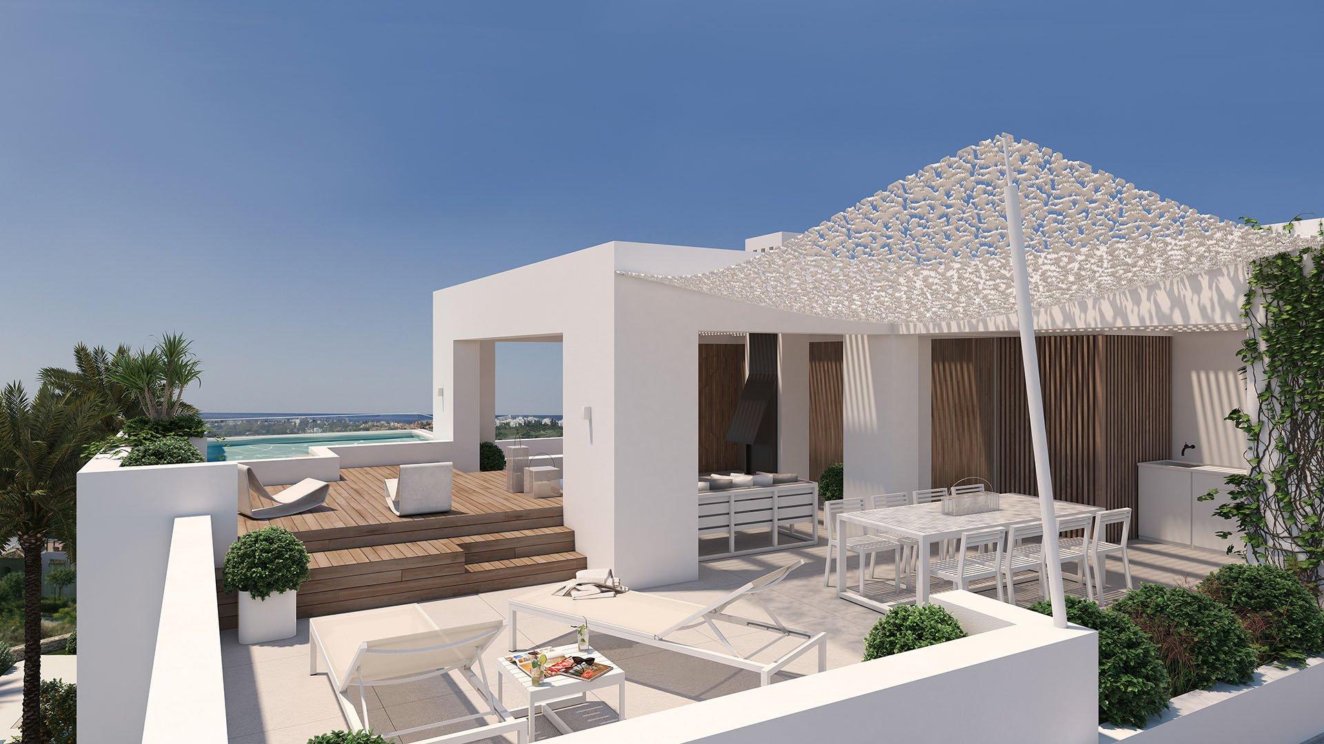 Unico Benahavís: Kleinschalig boutique project met luxueuze penthouses in Benahavís