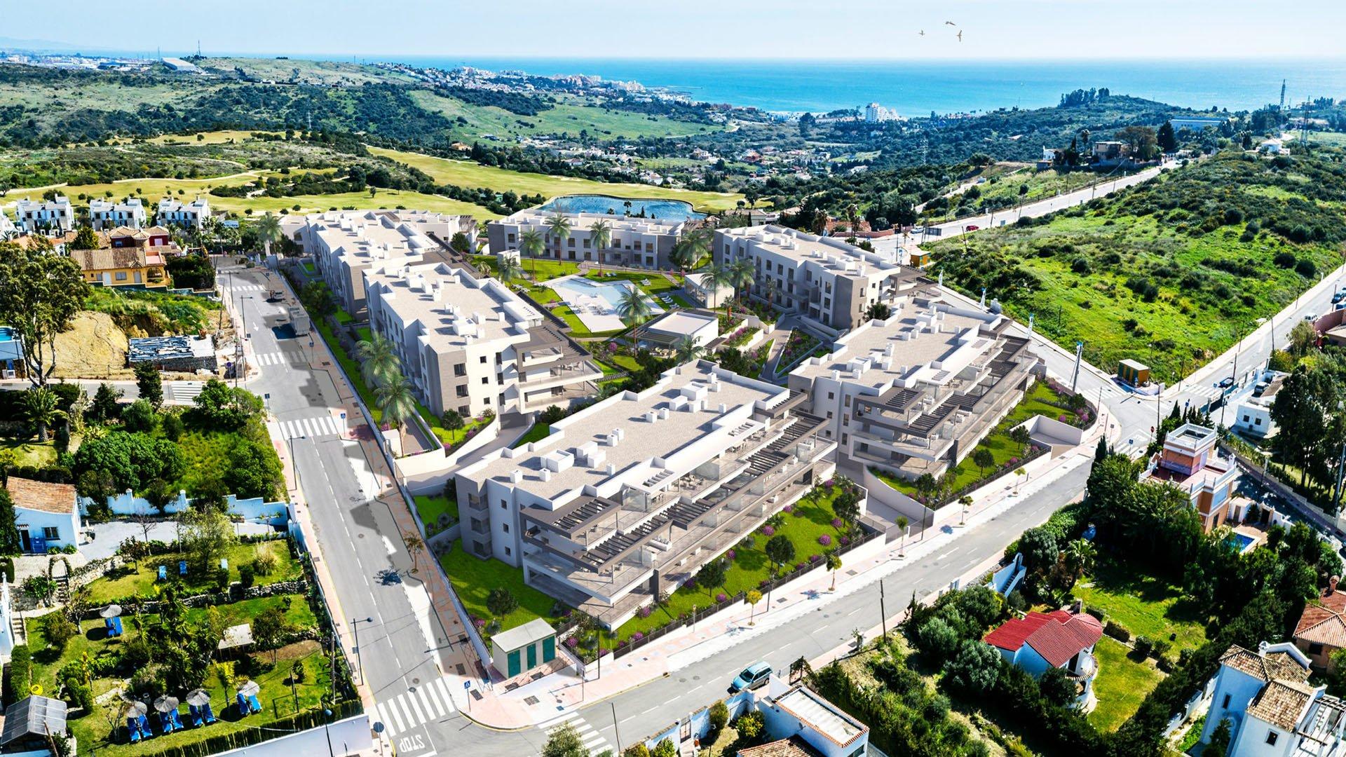 Habitat Valle Romano: Apartments in Estepona next to the sea and golf