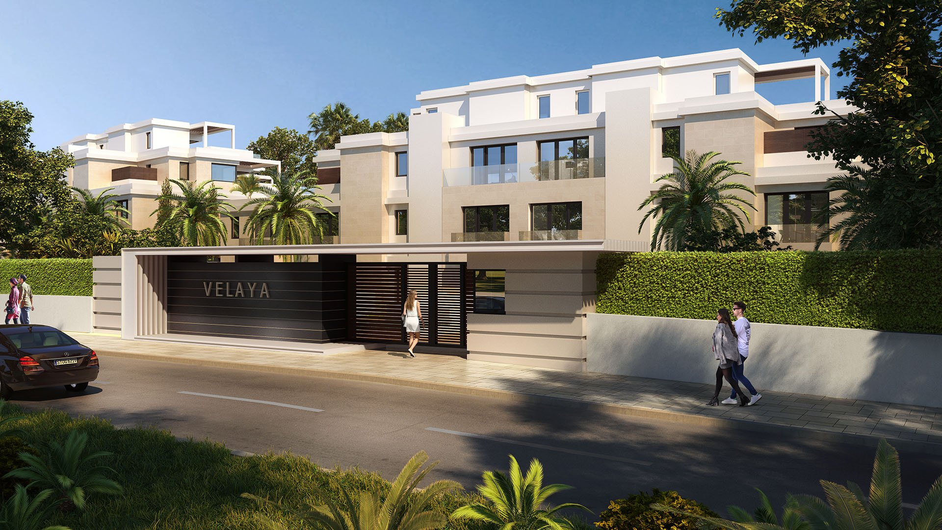 Velaya: Front line beach penthouses on the Golden Mile