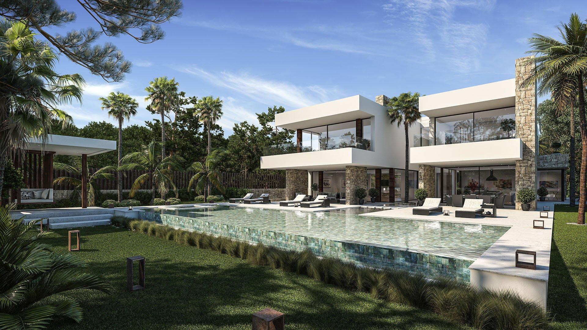 Villa Caleta: Luxury villa at prestigious location in Guadalmina
