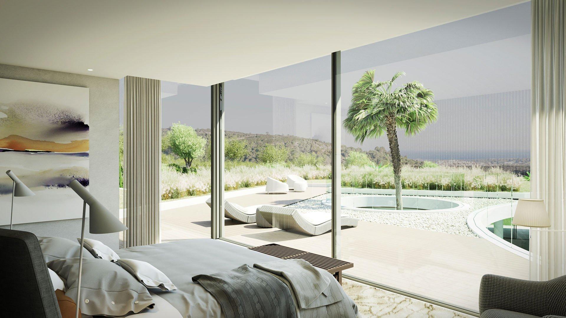 Villa Vela: Impressive villa with a view on the golf course in Sotogrande