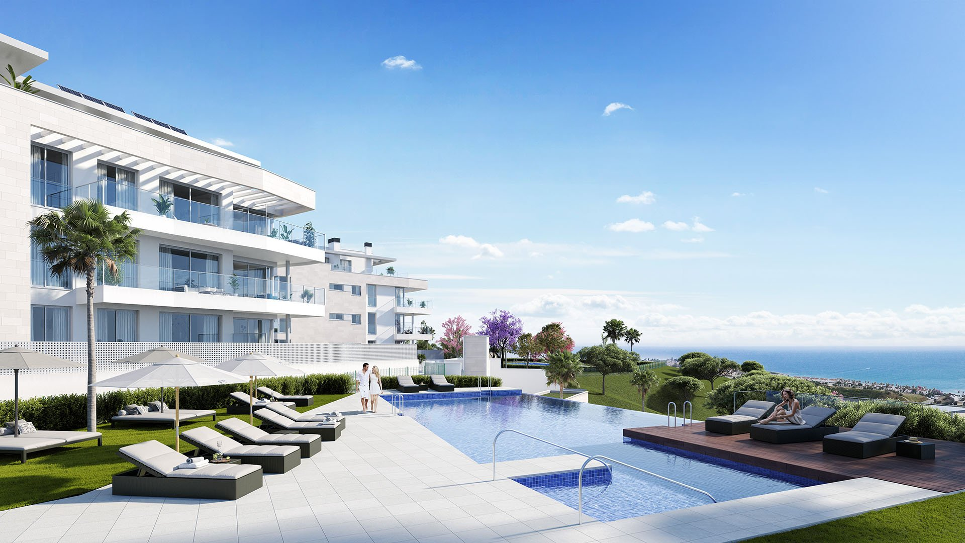 Vitta Nature: Apartments in Mijas Costa surrounded by nature and stunning sea views