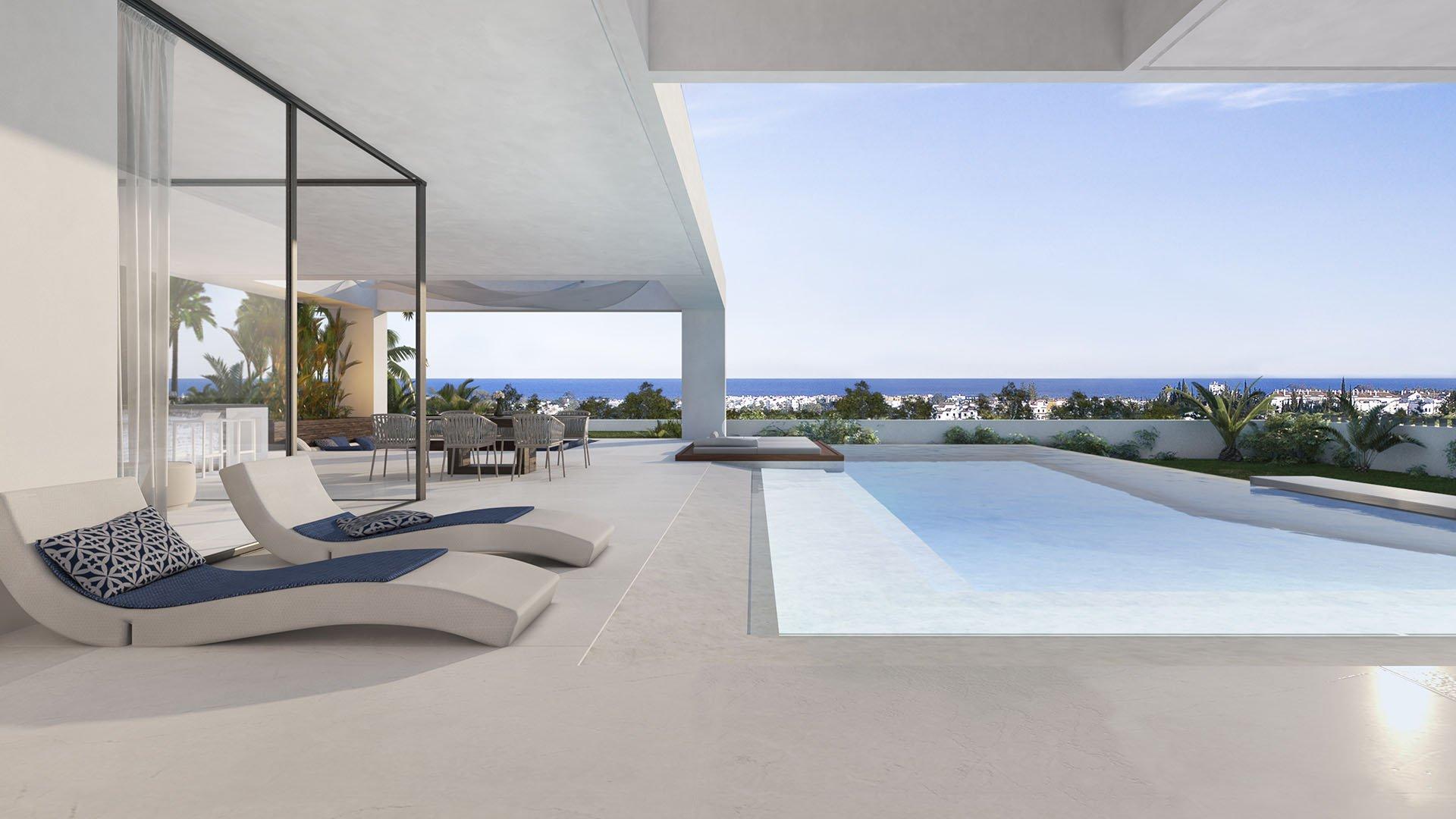Velvet: Modern luxury villas with panoramic sea views in Cancelada