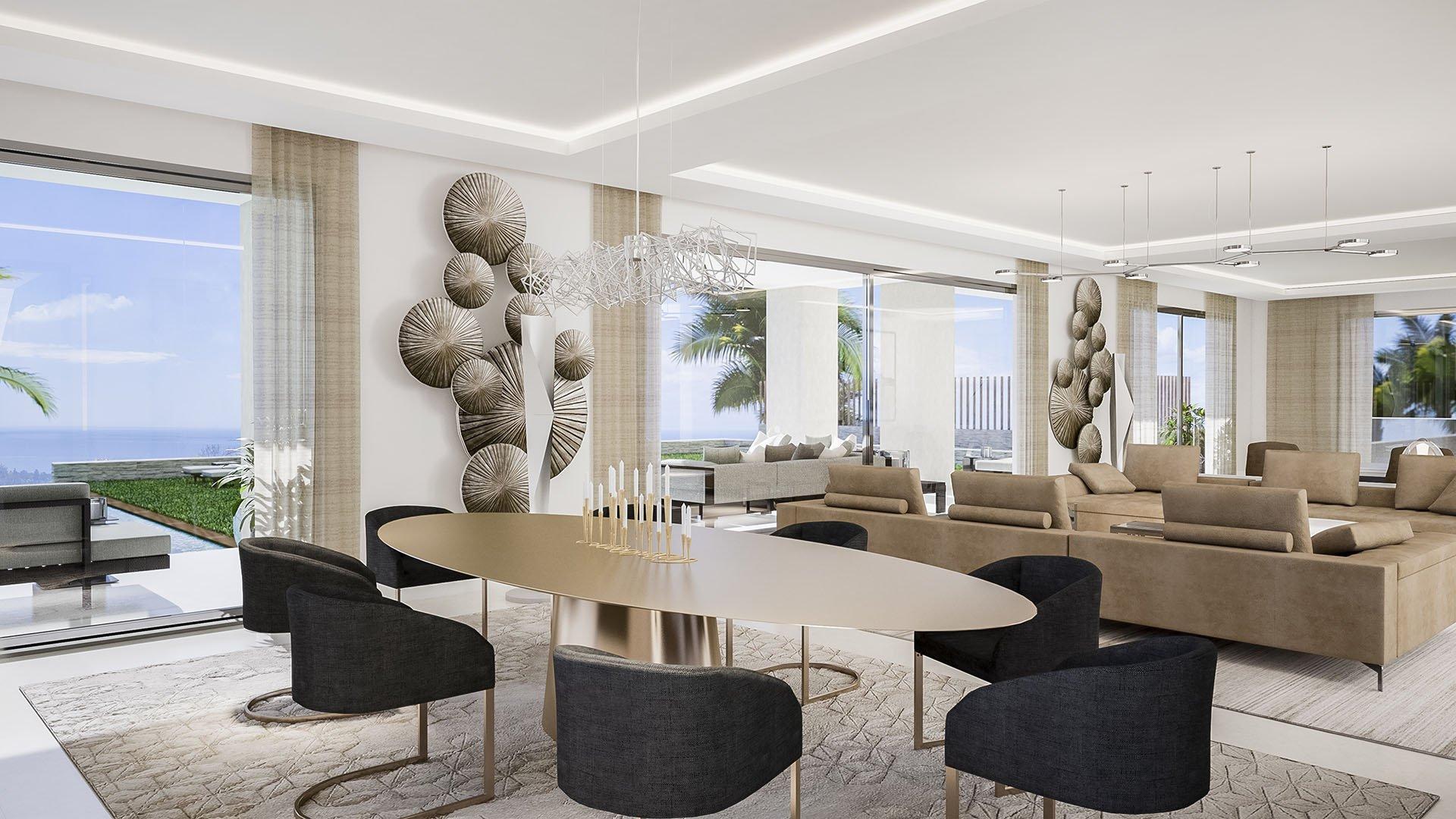 Villa Albinoni: Modern luxe villa in Sierra Blanca