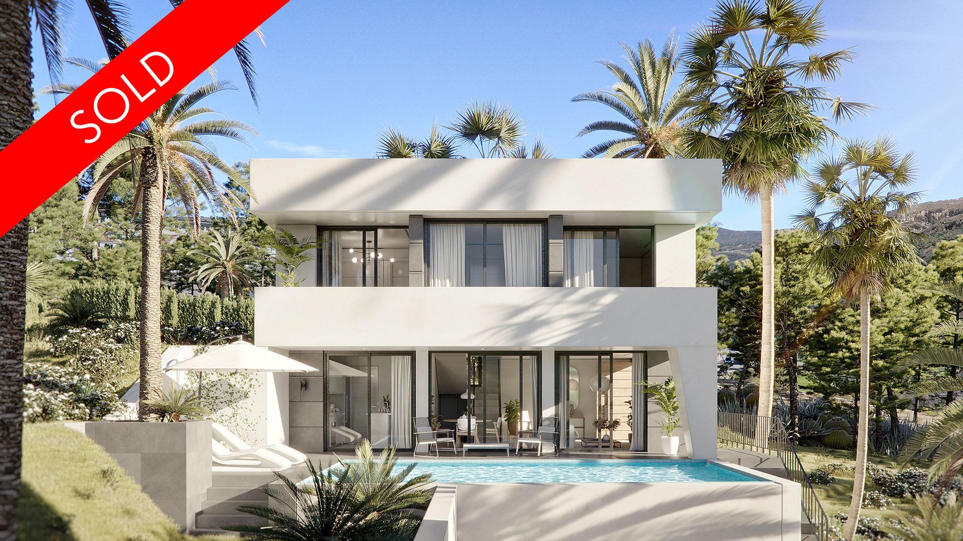 Villa Angelo: Modern villa in Benalmádena