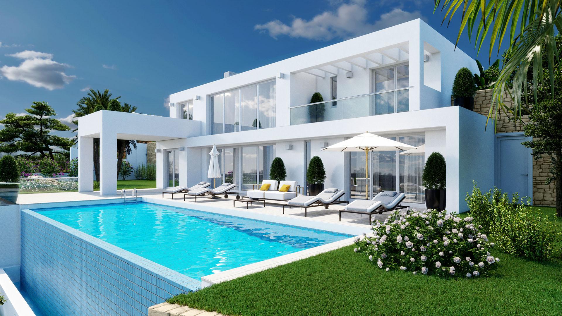 Villa La Mairena 1511: Modern villa on the east side of Marbella