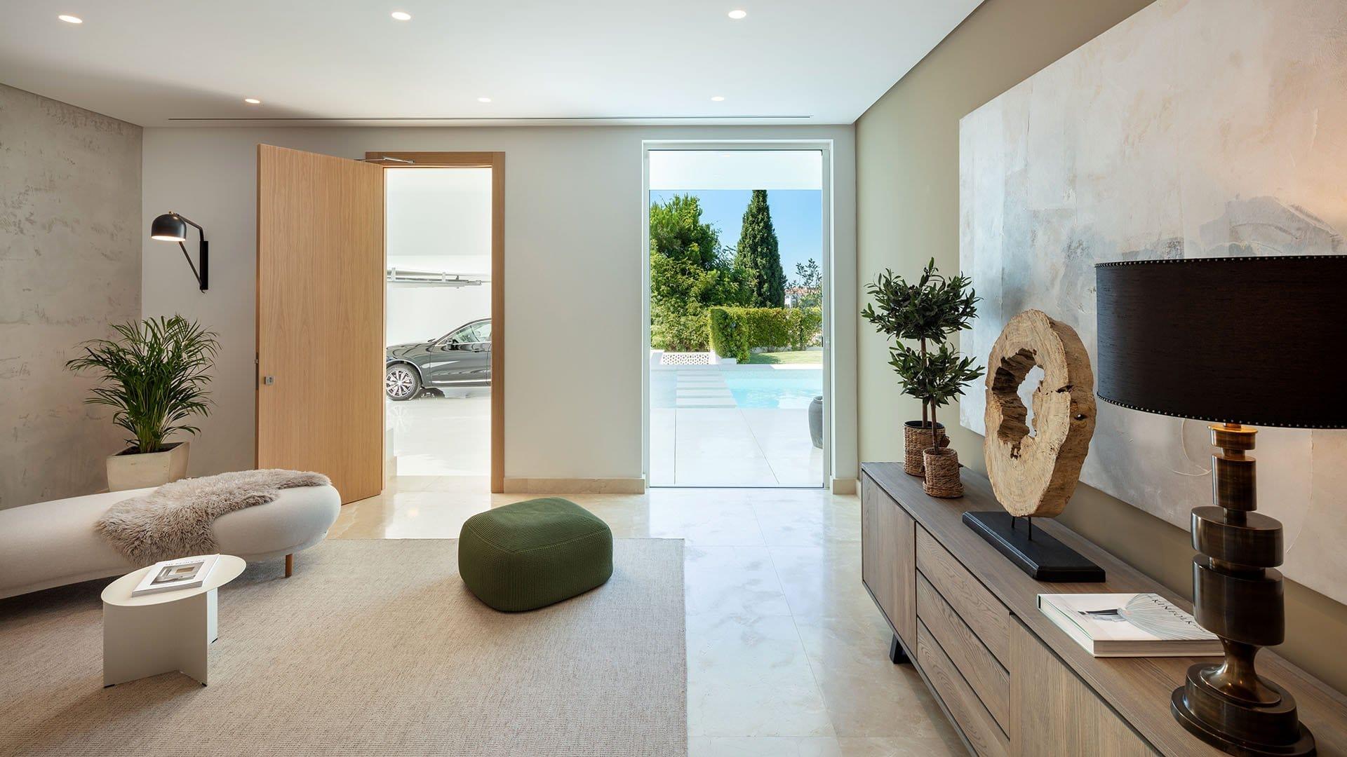 Villa La Quinta 106: Hedendaagse villa met zicht op zee in La Quinta, Marbella