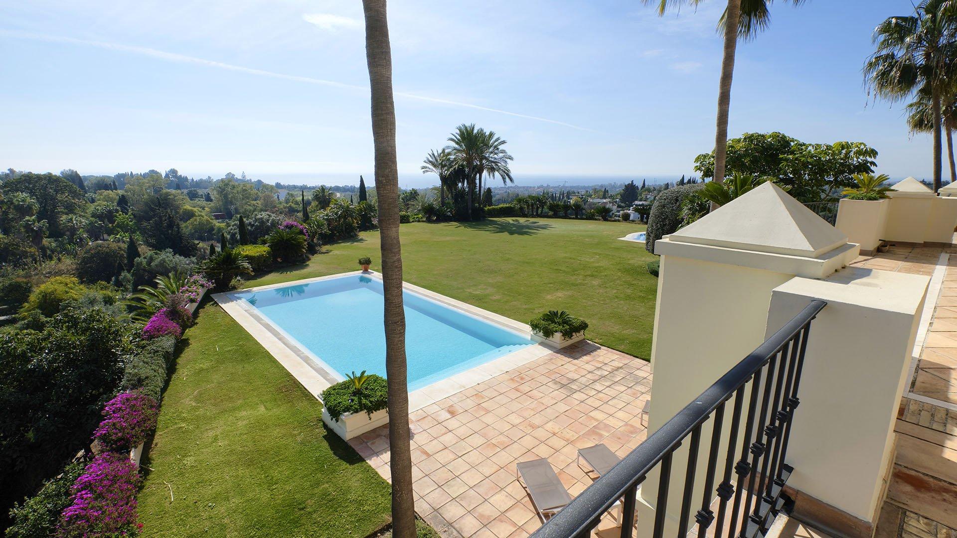 Villa La Rotonda B: Classic villa on the Golden Mile in Marbella