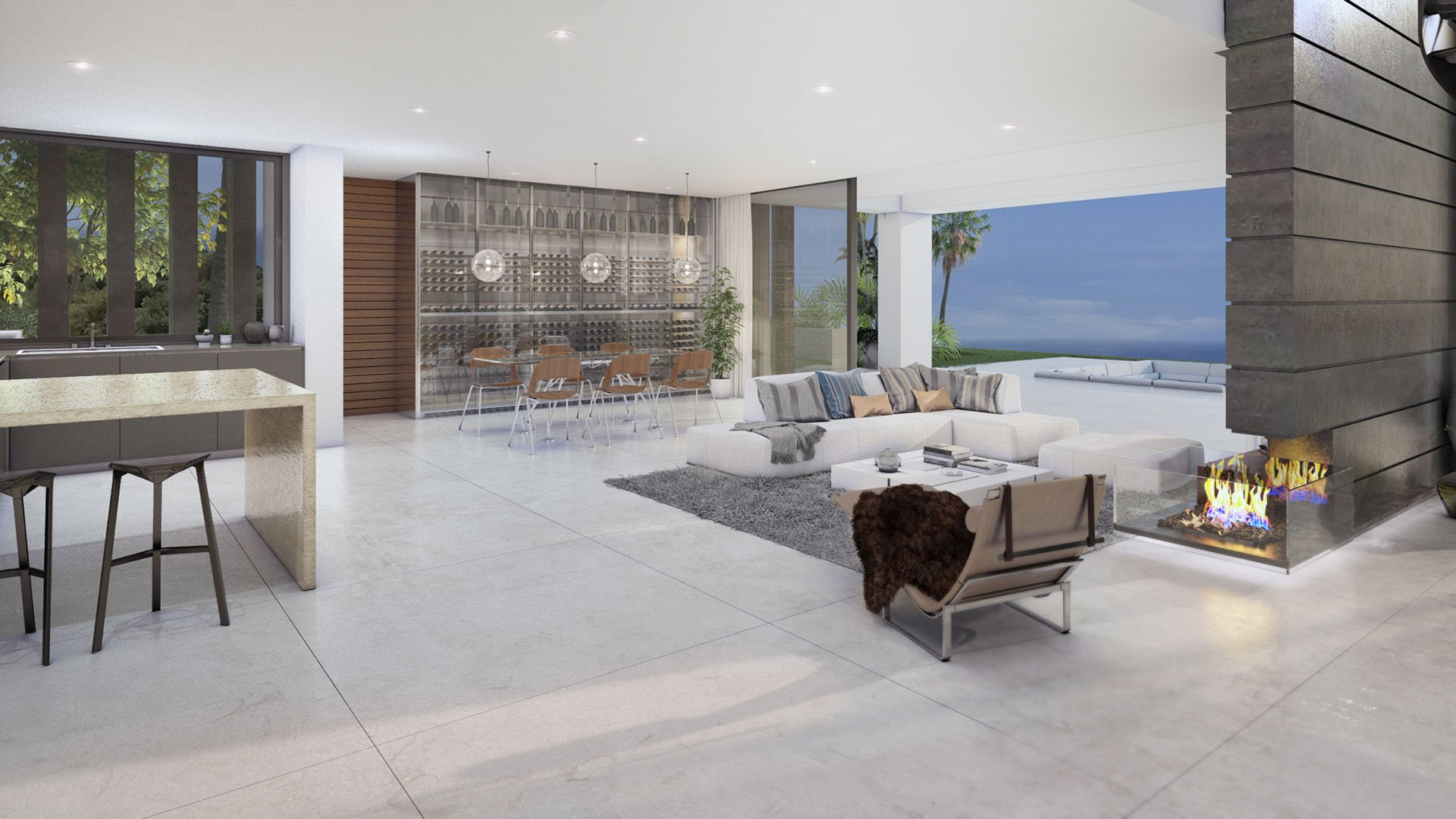 Villa Marlina: Contemporary villa with stunning sea views in Manilva