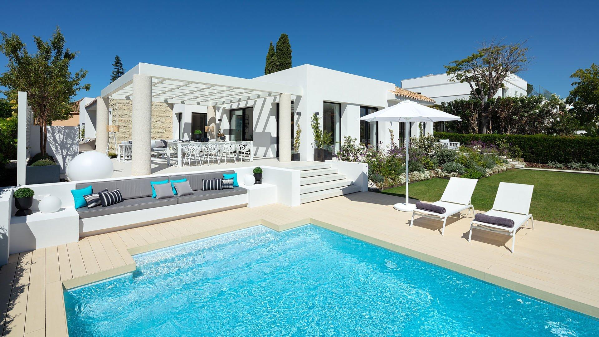 Villa Olivia: Prachtige villa in het hart van de Golf Vallei in Nueva Andalucía
