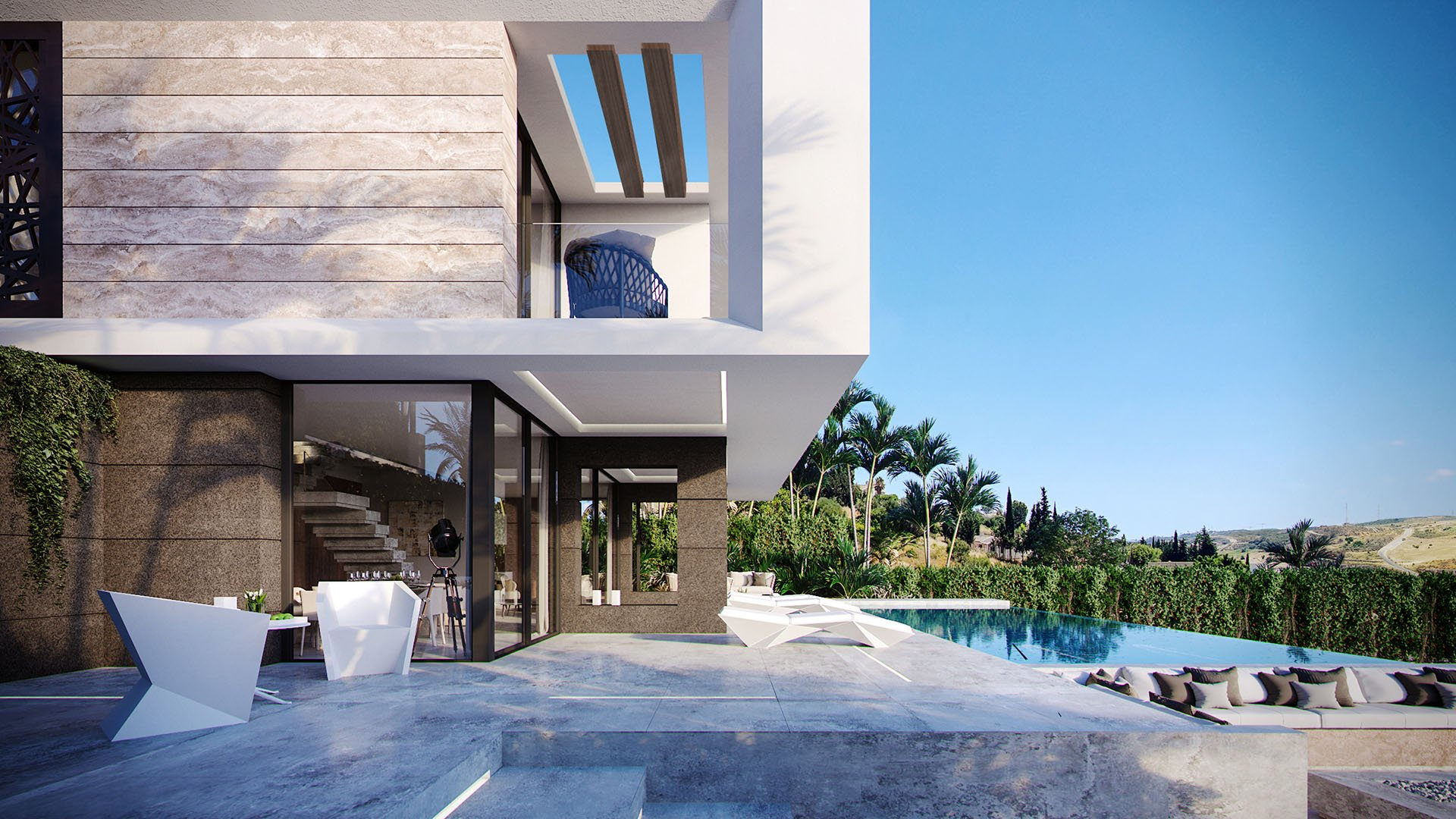 Valle Romano Green: Contemporary villas in Valle Romana Golf resort – Estepona