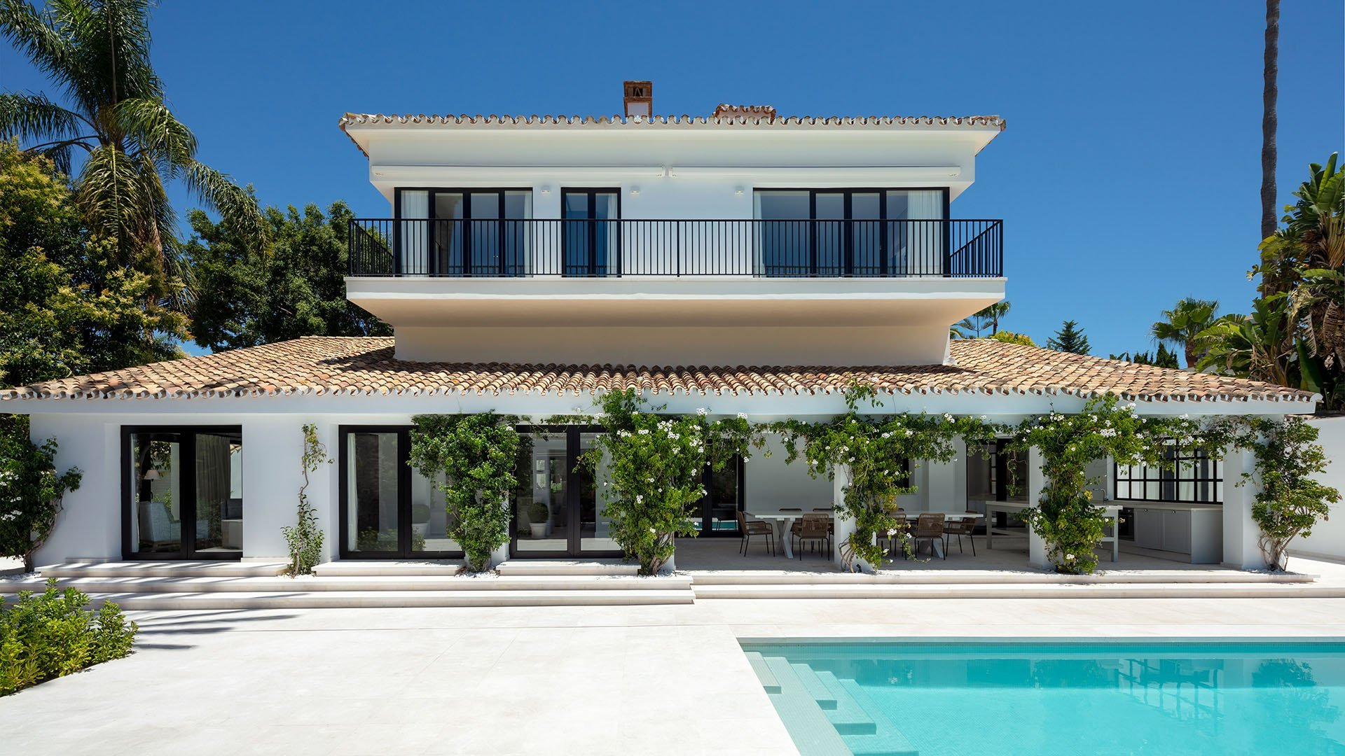 Villa Sandcastle: Elegante front line golf villa met panoramisch uitzicht