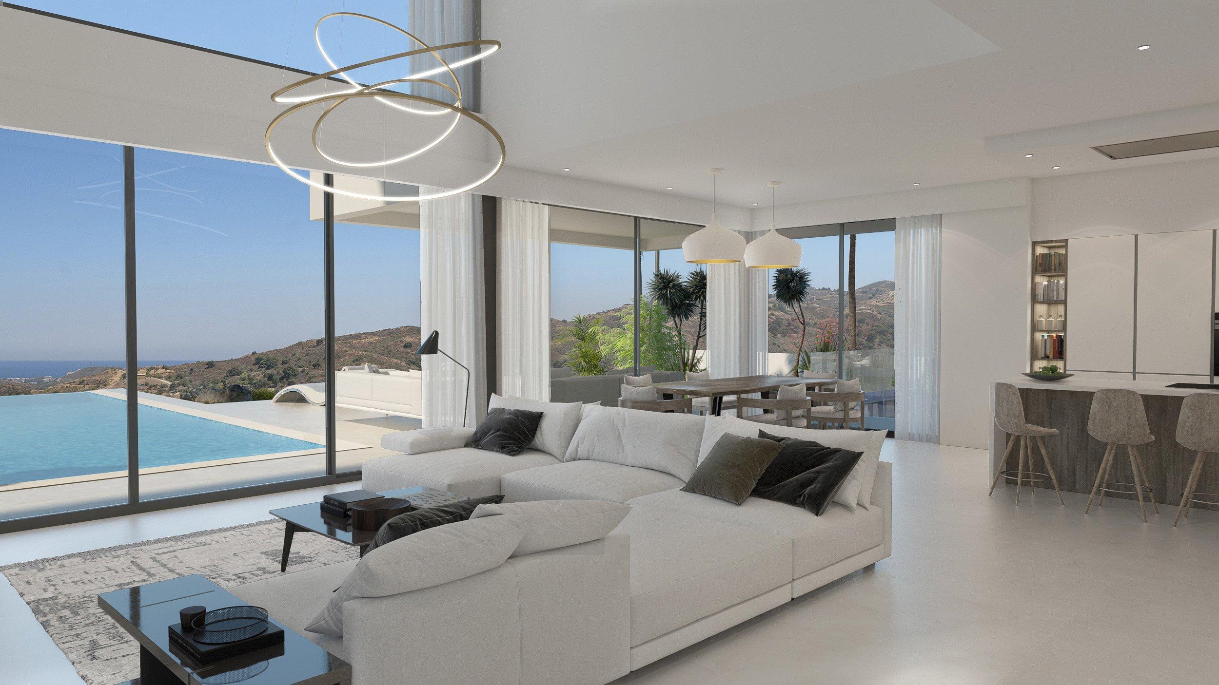 Villa Cala Golf 44: Golf villa with stunning views in La Cala Golf