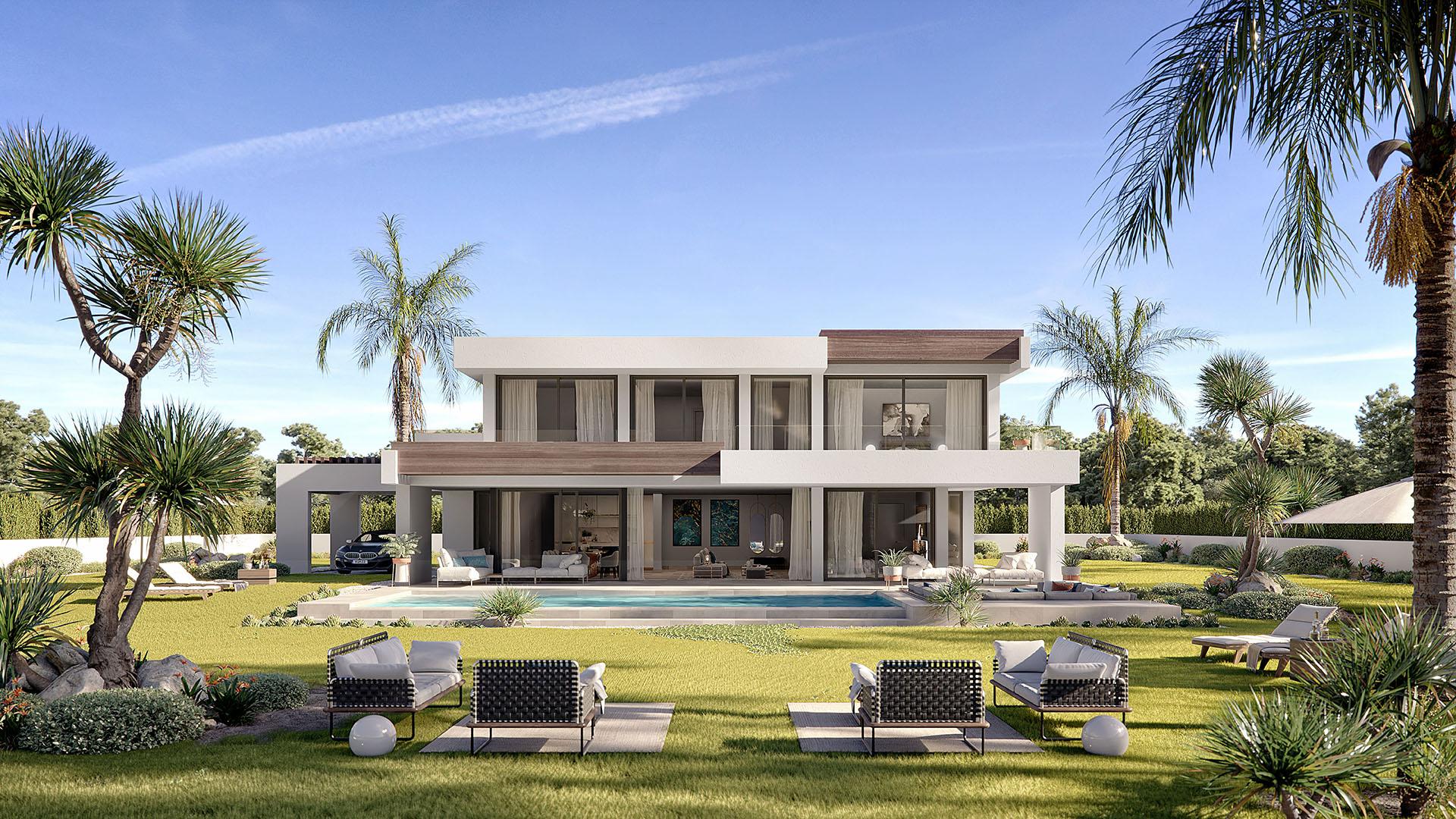 Oceanic: Magnificent new build villas with impressive sea views in Manilva