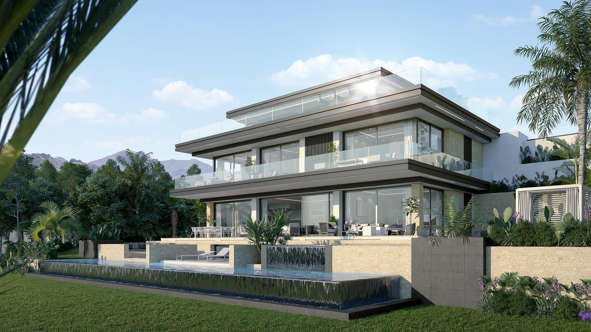 Villas Oceanica: Luxe villa's op een toplocatie in Elveria met spectaculair zeezicht